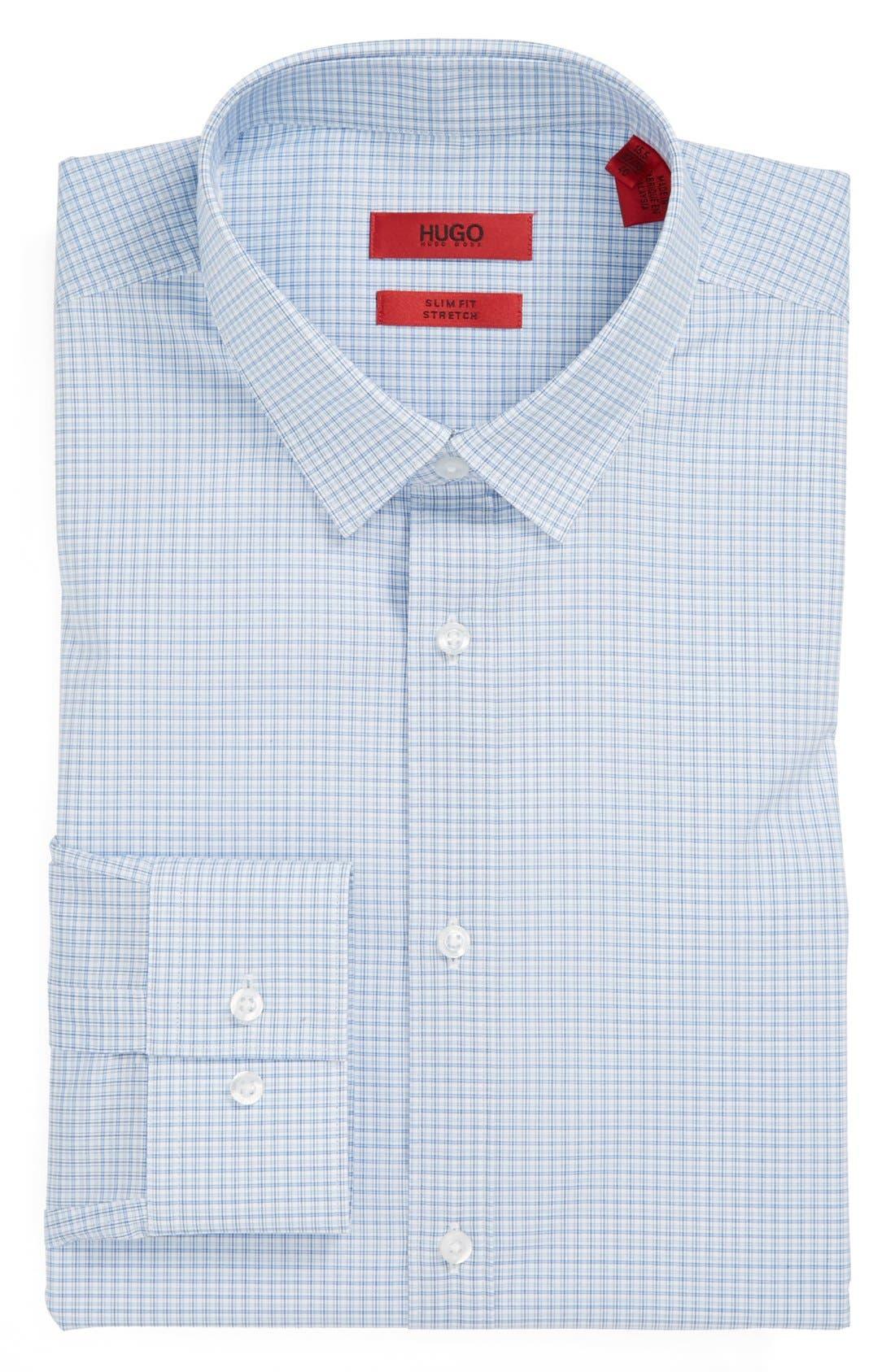 Main Image - HUGO 'EverettX' Slim Fit Dress Shirt