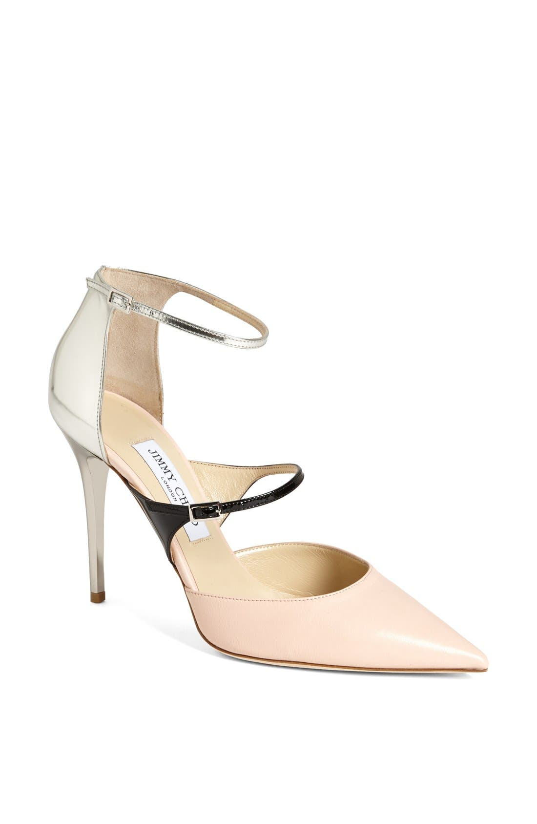 Main Image - Jimmy Choo 'Typhoon' Ankle Strap Pump