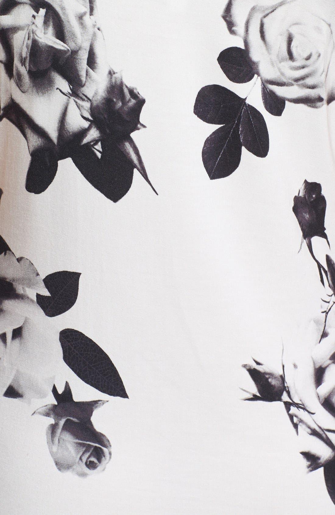 Alternate Image 3  - PJ Luxe 'Rose Noir' Chemise