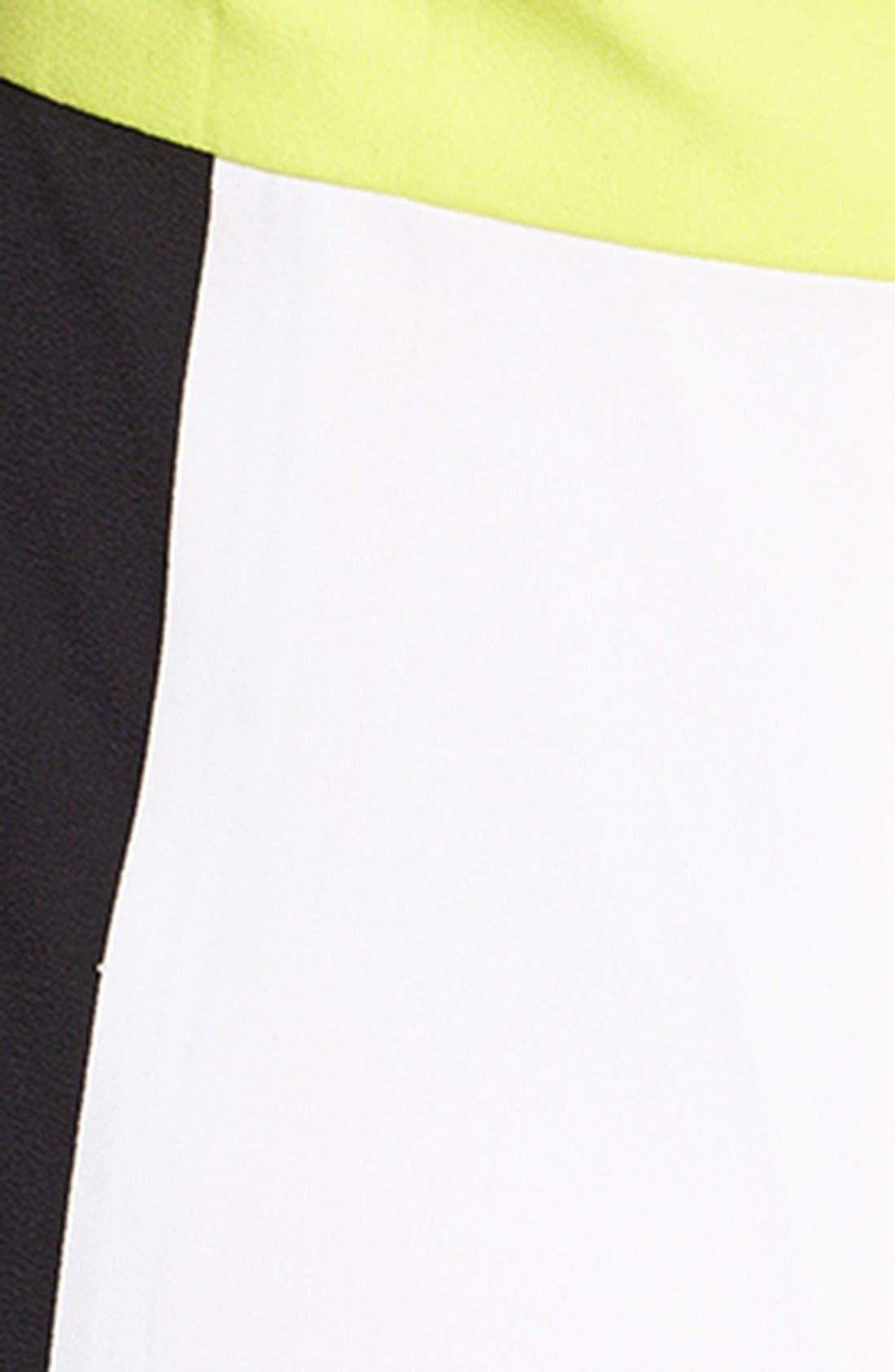 Alternate Image 3  - Vince Camuto Colorblock Halter Maxi Dress