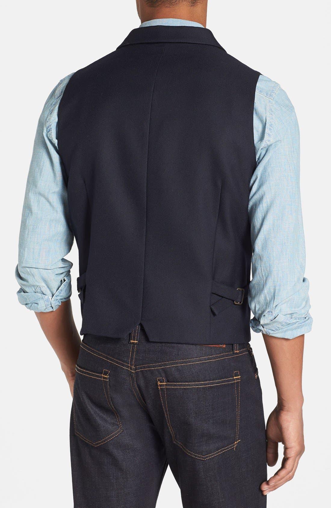 Alternate Image 2  - Scotch & Soda Cotton Vest