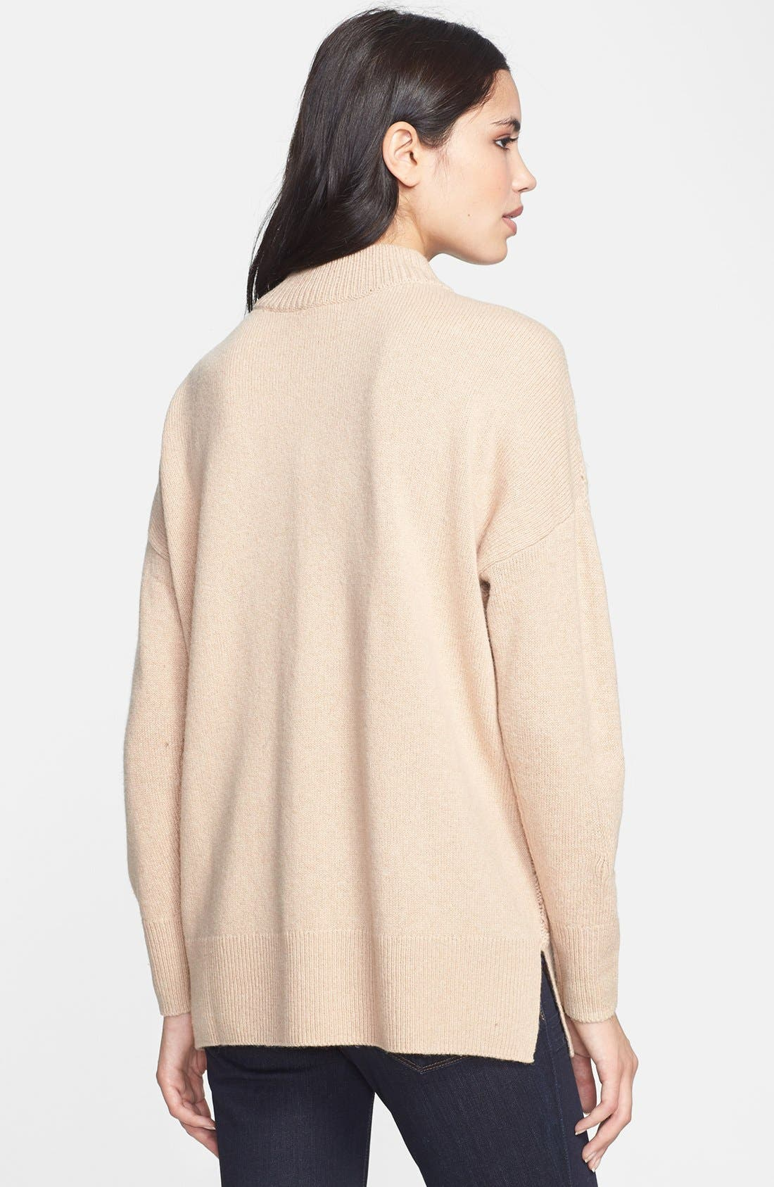 Alternate Image 2  - Joie 'Bryanne' Cable Knit Sweater