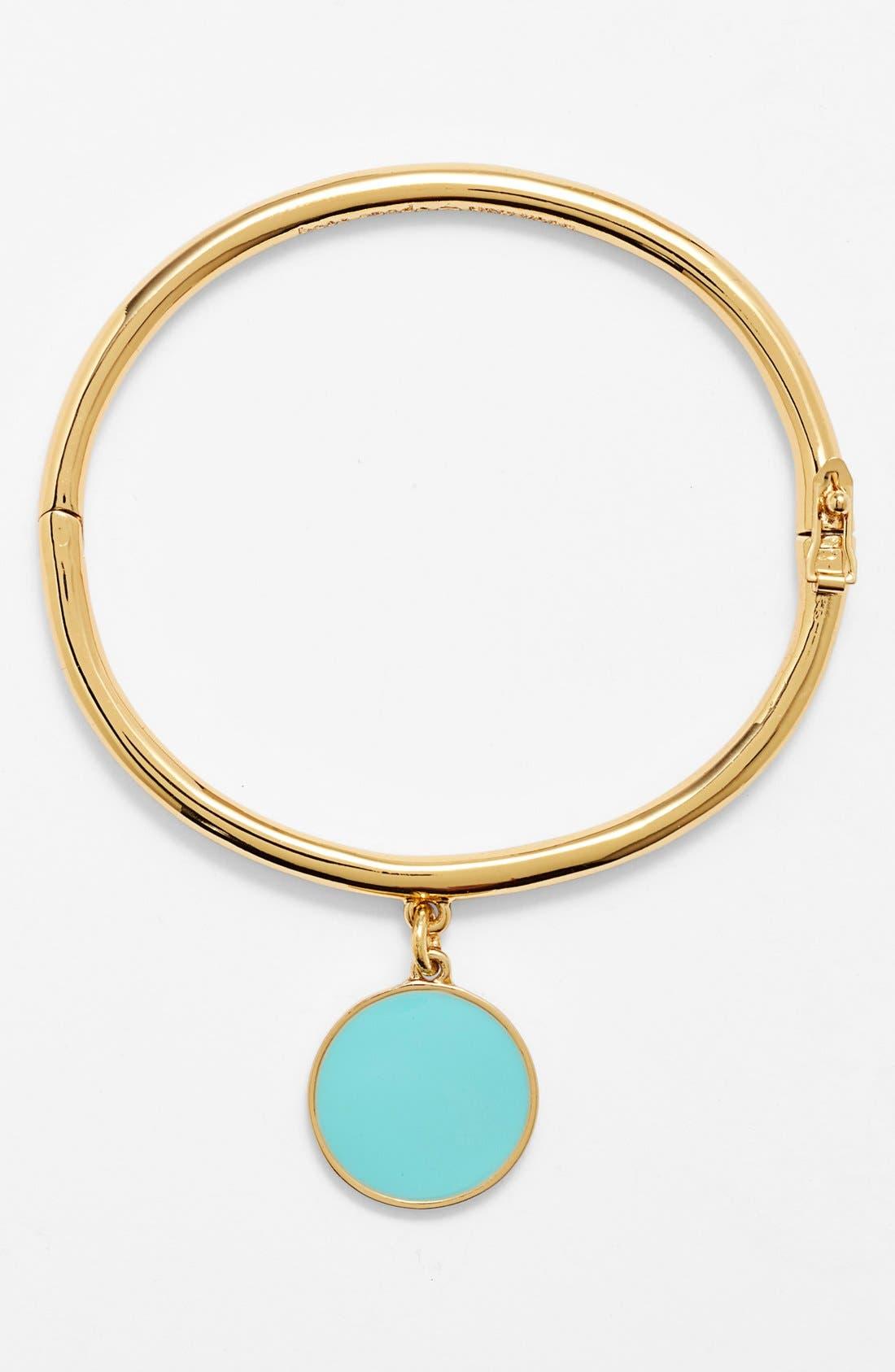 Alternate Image 2  - kate spade new york 'bridal - something blue' hinged charm bangle