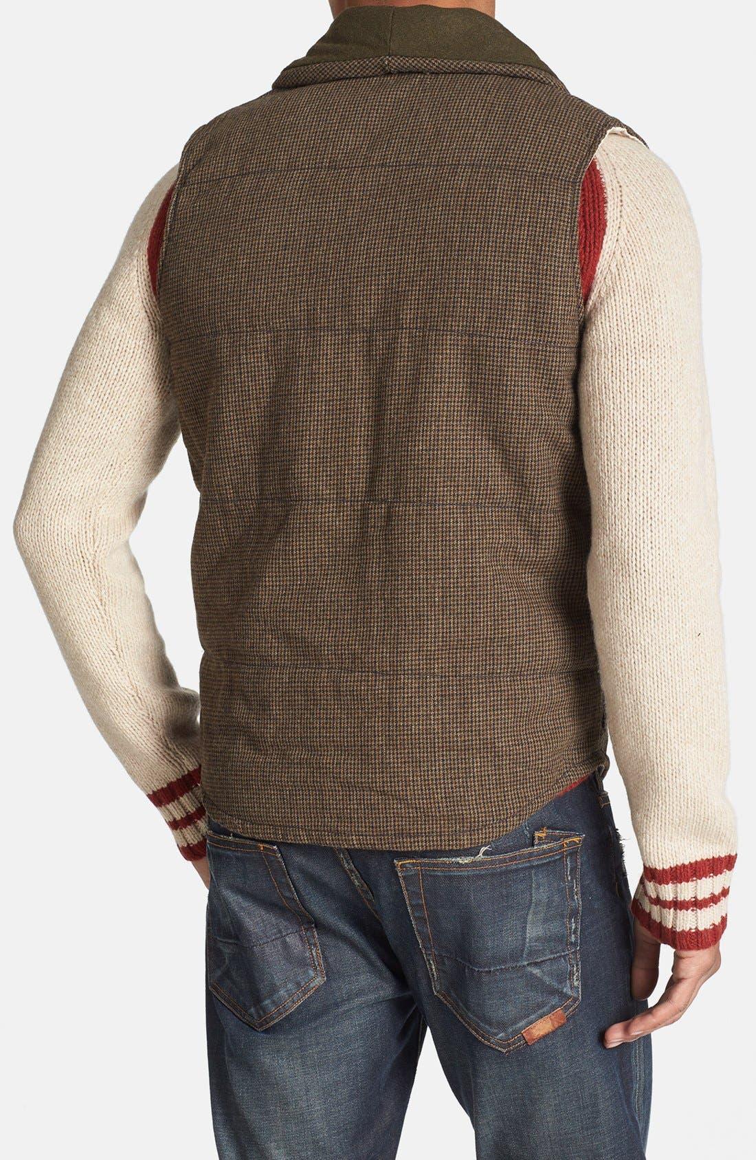 Alternate Image 2  - Deus Ex Machina 'Doyle' Padded Tweed Vest