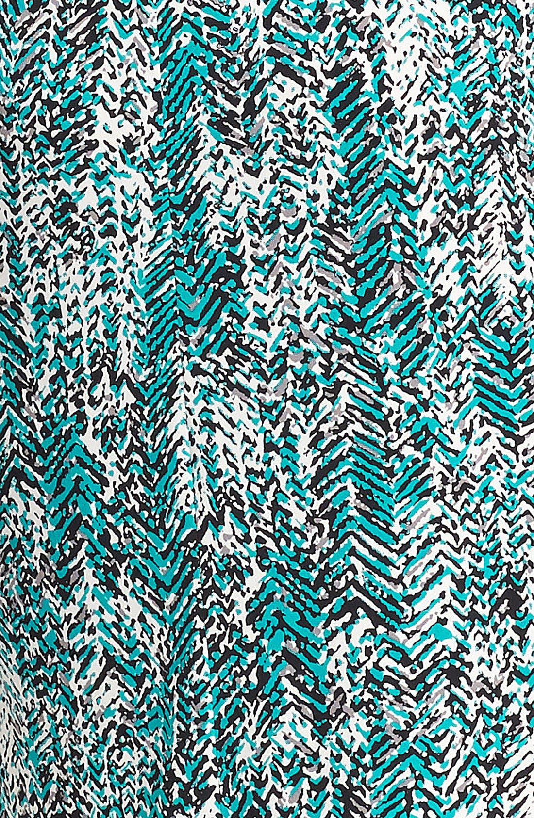 Alternate Image 3  - MICHAEL Michael Kors Print Faux Wrap Dress (Petite)