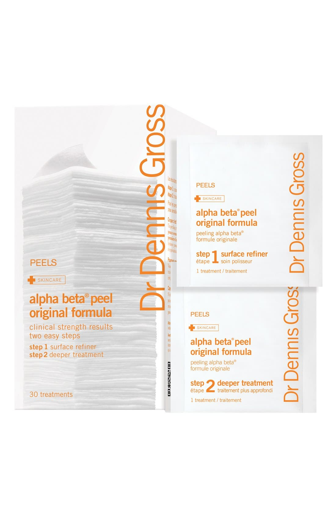 Dr. Dennis Gross Skincare Alpha Beta® Daily Face Peel Travel Packs - 30 Applications