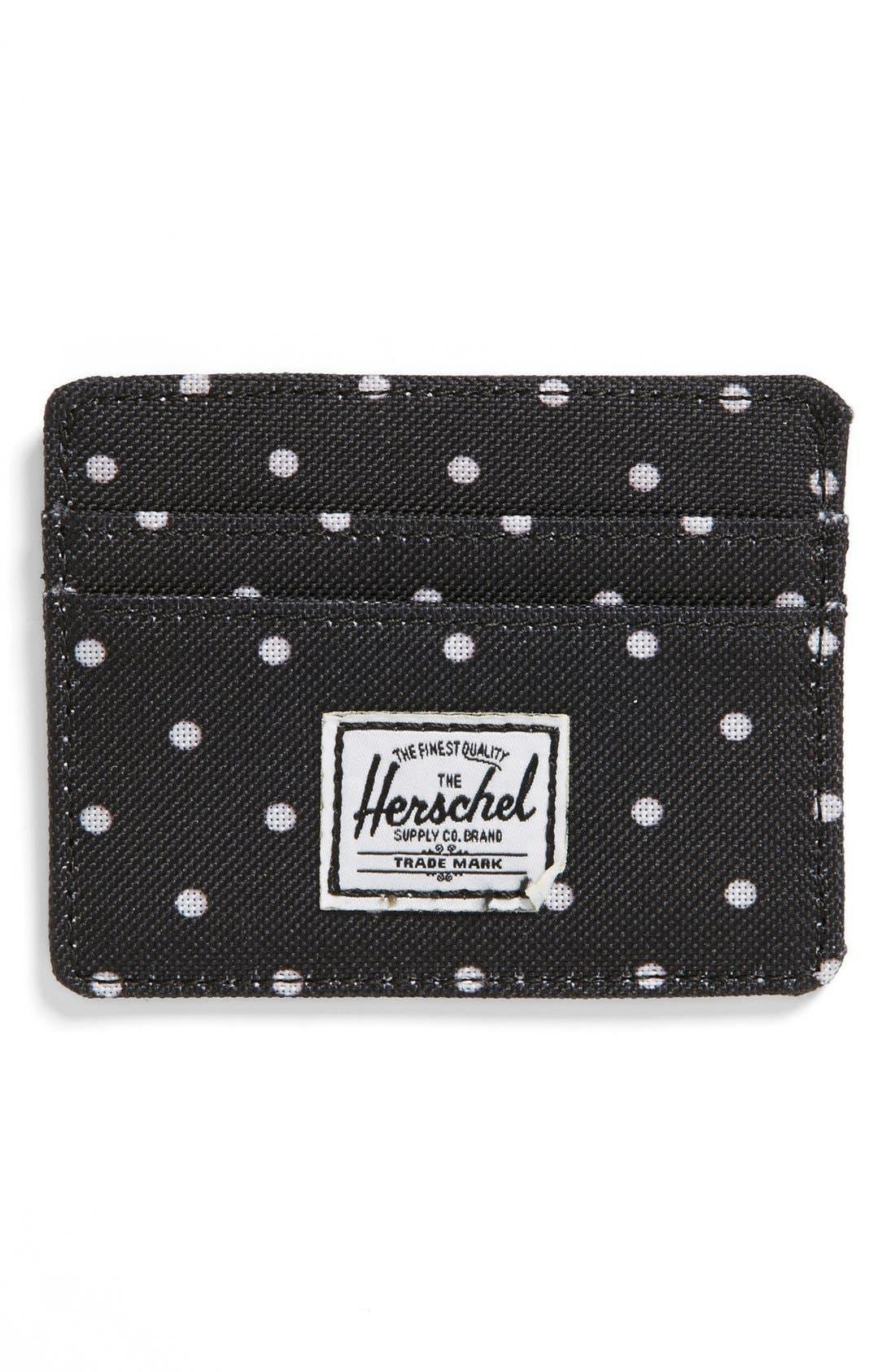 Alternate Image 1 Selected - Herschel Supply Co. 'Charlie' Card Holder