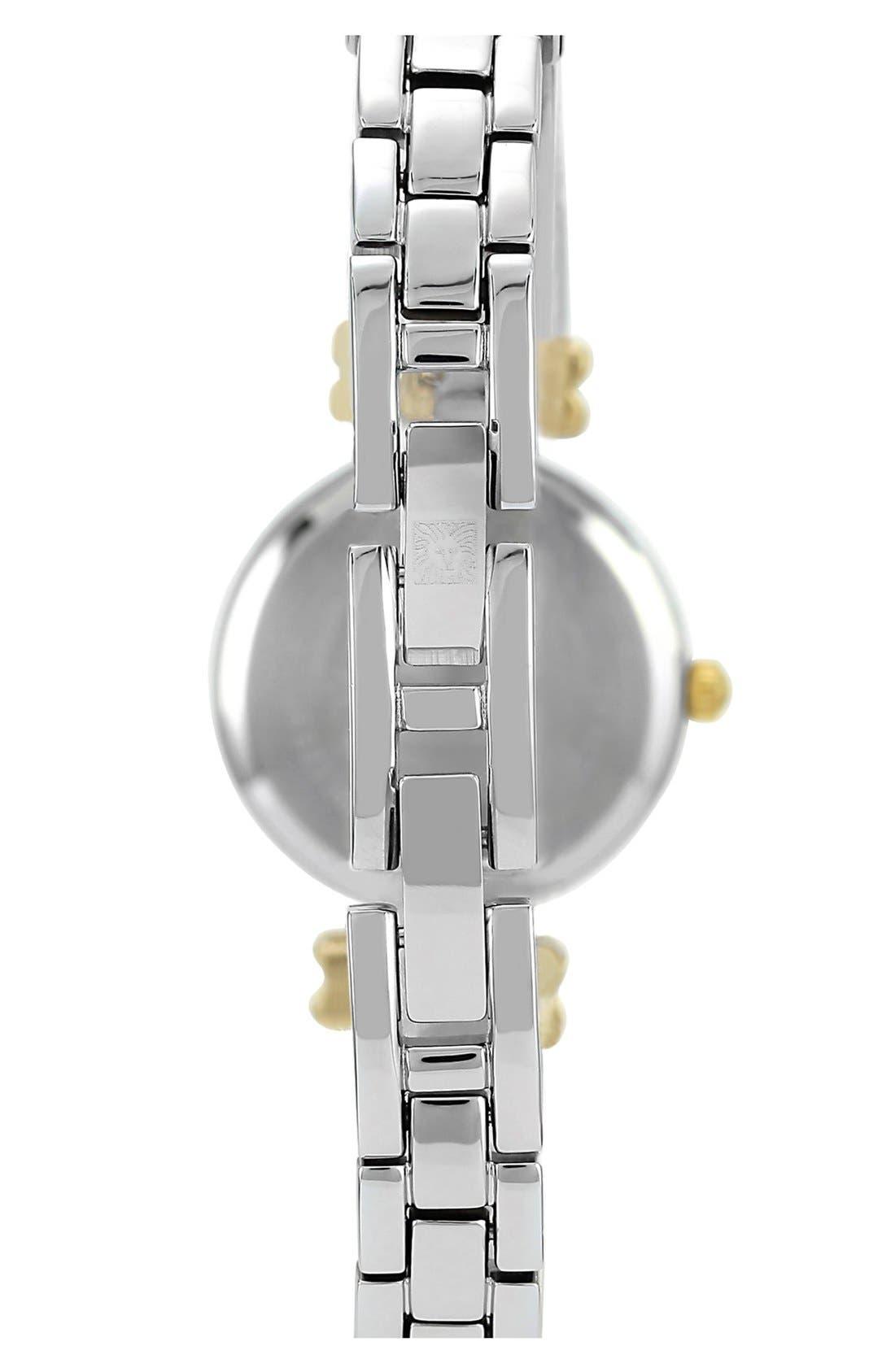 Alternate Image 2  - Anne Klein Round Bangle Watch
