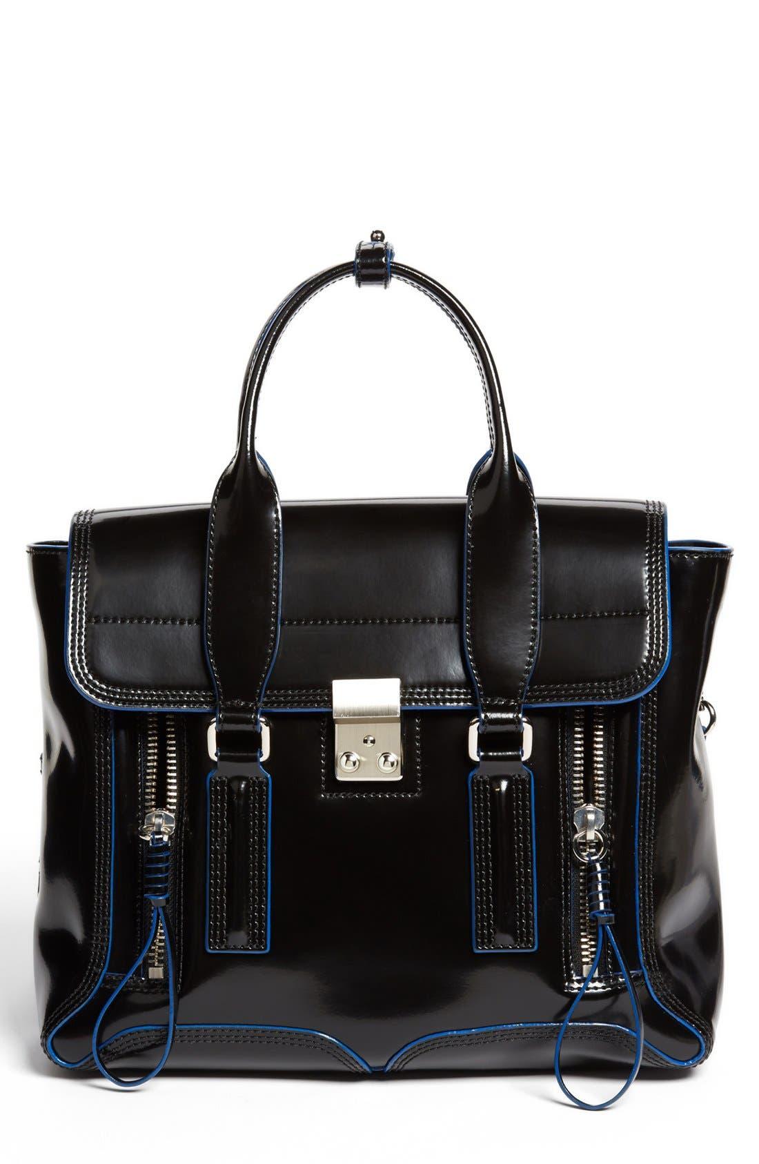 Main Image - 3.1 Phillip Lim 'Medium Pashli' Spazzolato Leather Satchel
