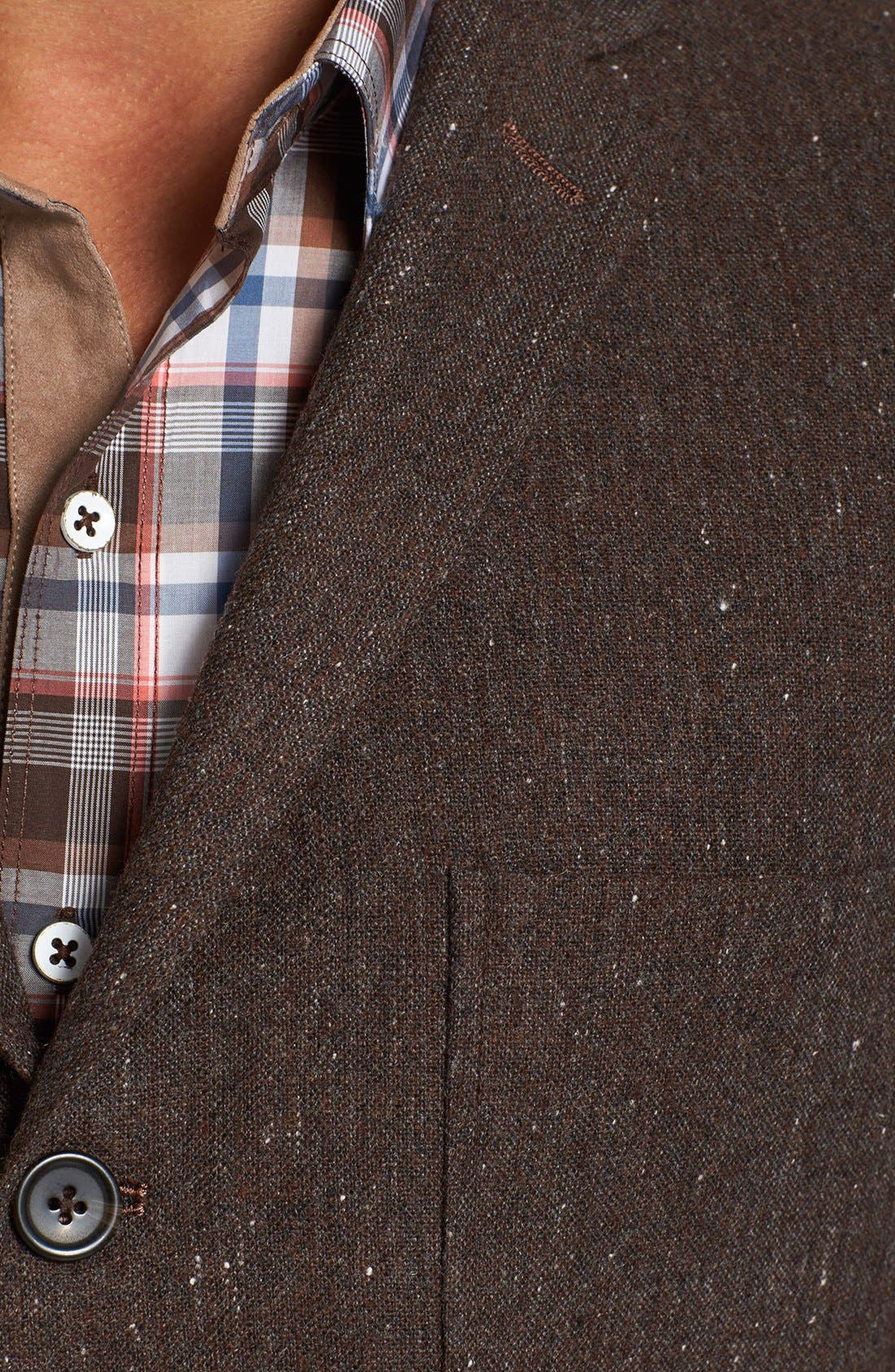 Alternate Image 2  - Dockers® Tweed Three Button Blazer