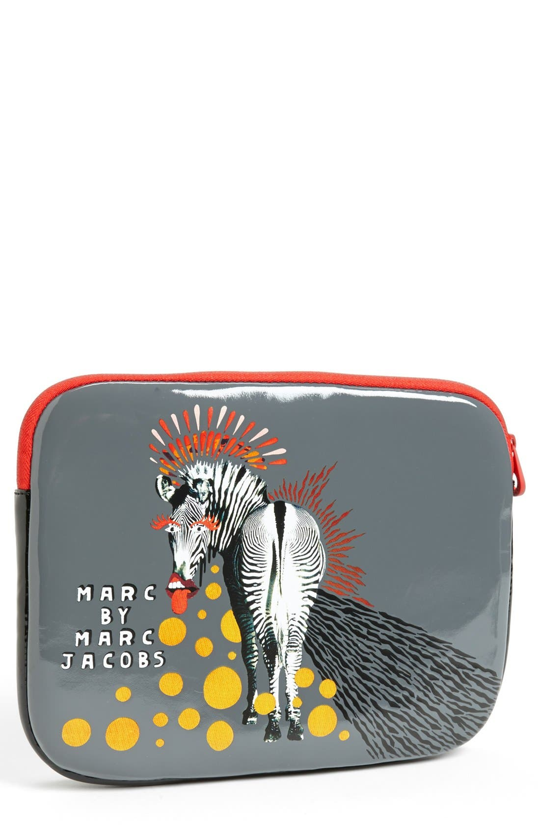 Alternate Image 1 Selected - MARC BY MARC JACOBS 'Zebra' Tablet Sleeve
