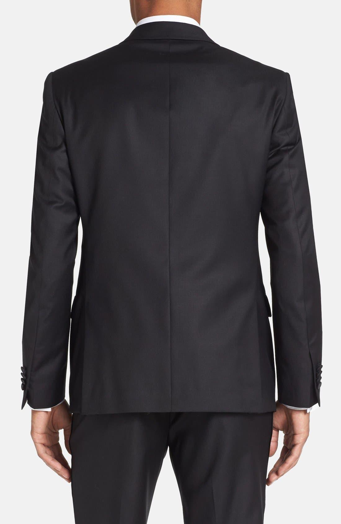 Alternate Image 4  - Michael Kors Trim Fit Wool Tuxedo