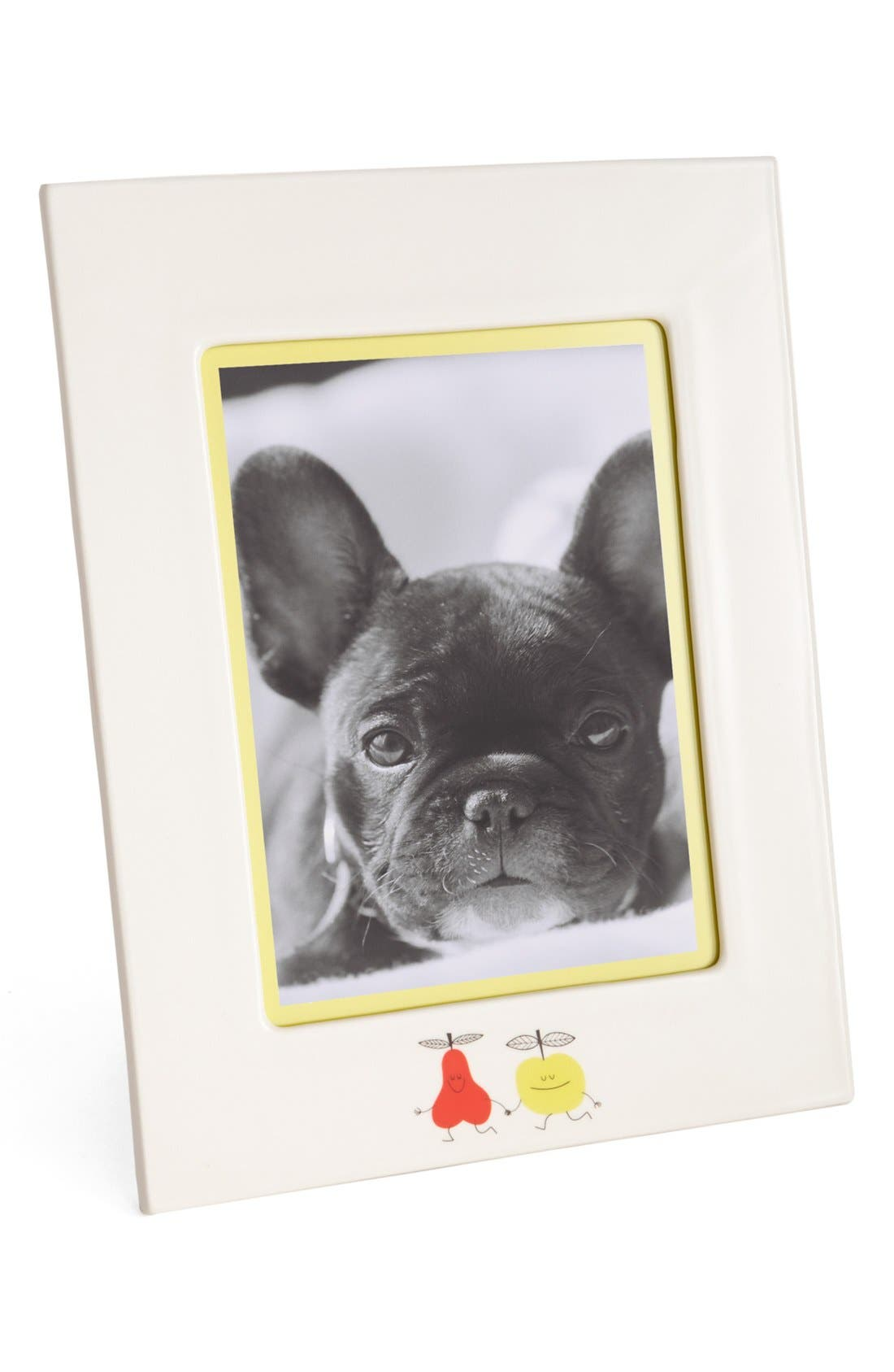 Alternate Image 1 Selected - kate spade new york 'crunch bunch' frame (5x7)