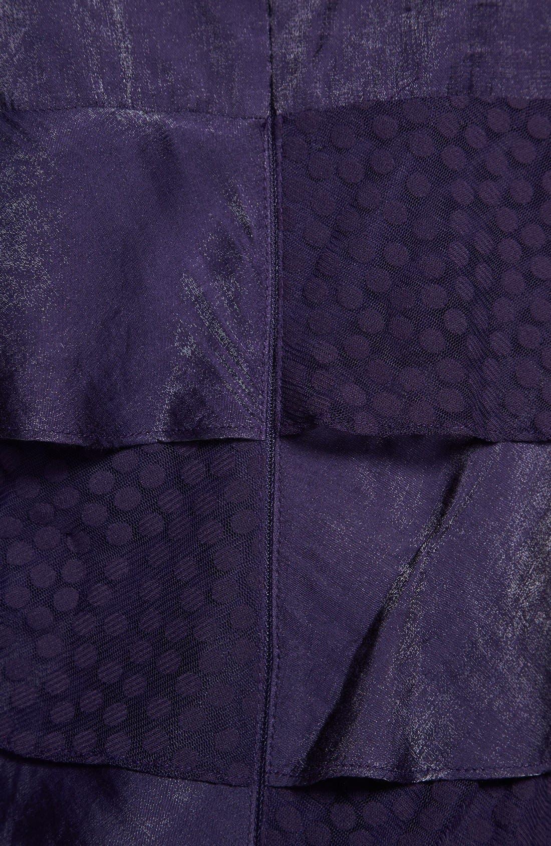 Alternate Image 3  - London Times Tiered Ruffle Dress