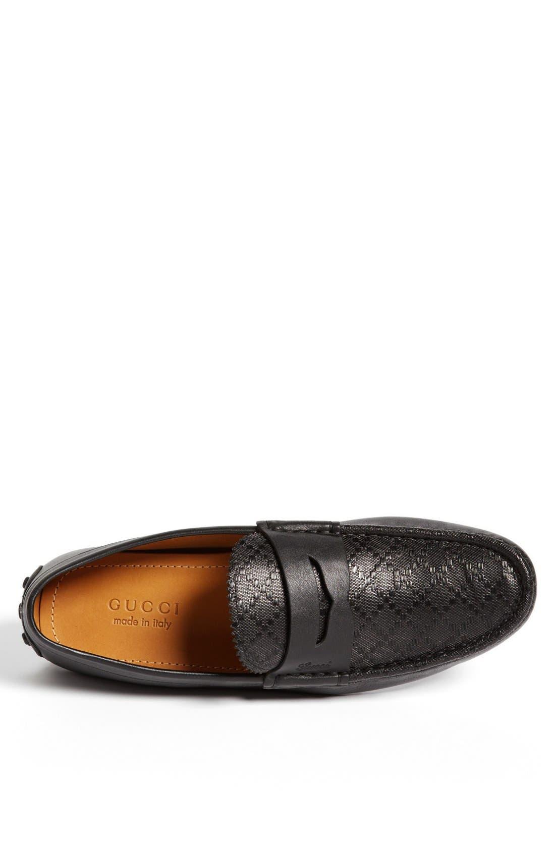 Alternate Image 3  - Gucci 'Damo' Diamante Driving Shoe