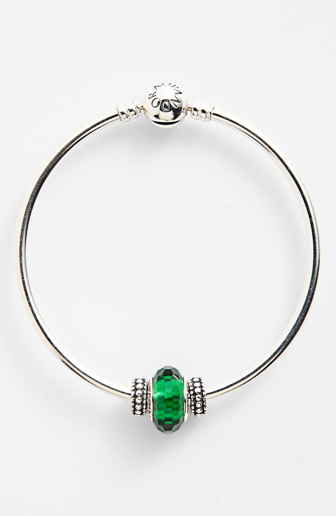 Alternate Image 3  - PANDORA 'Fascinating Green' Charm