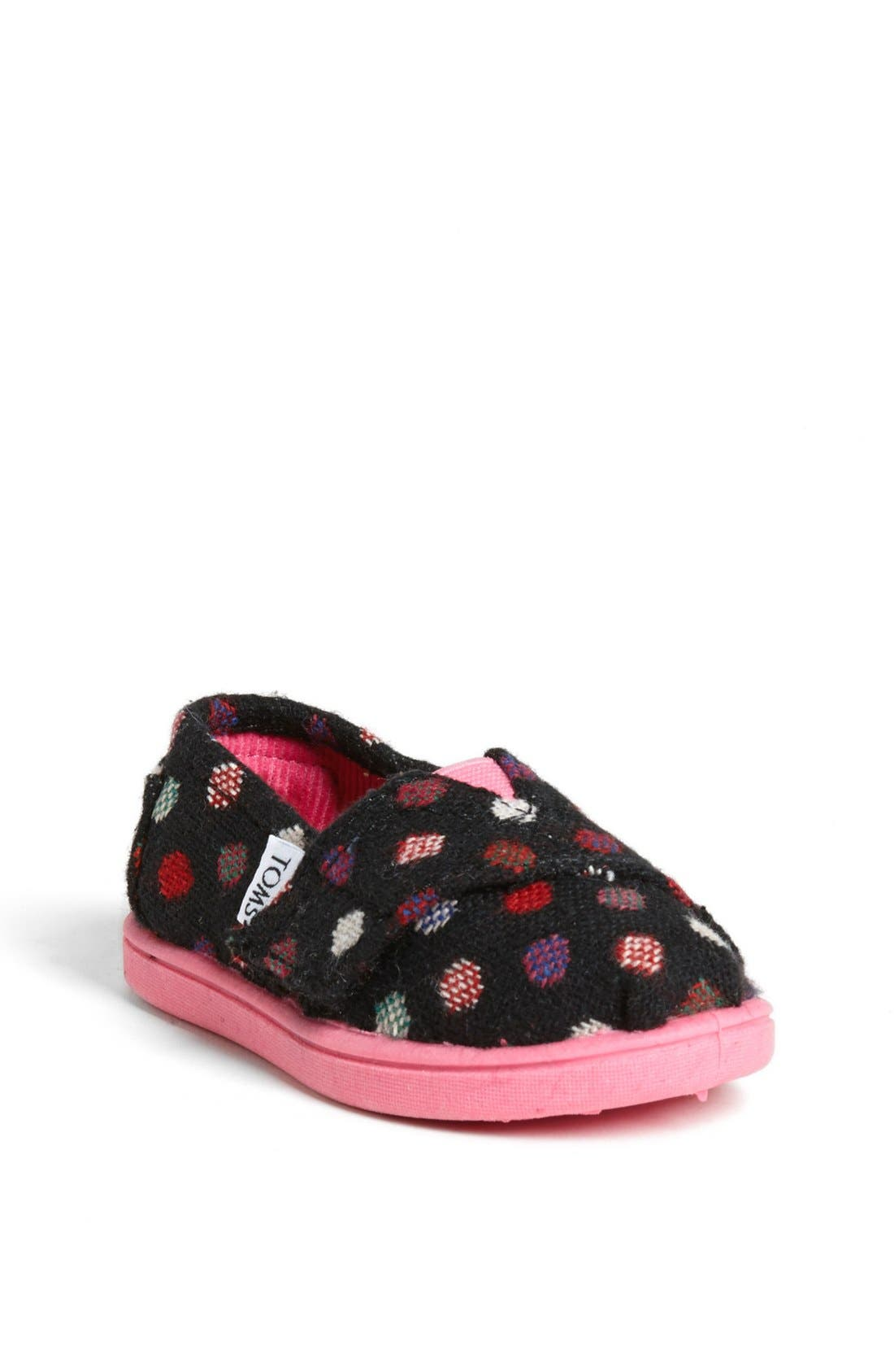 Main Image - TOMS 'Classic - Tiny' Slip-On (Baby, Walker & Toddler)