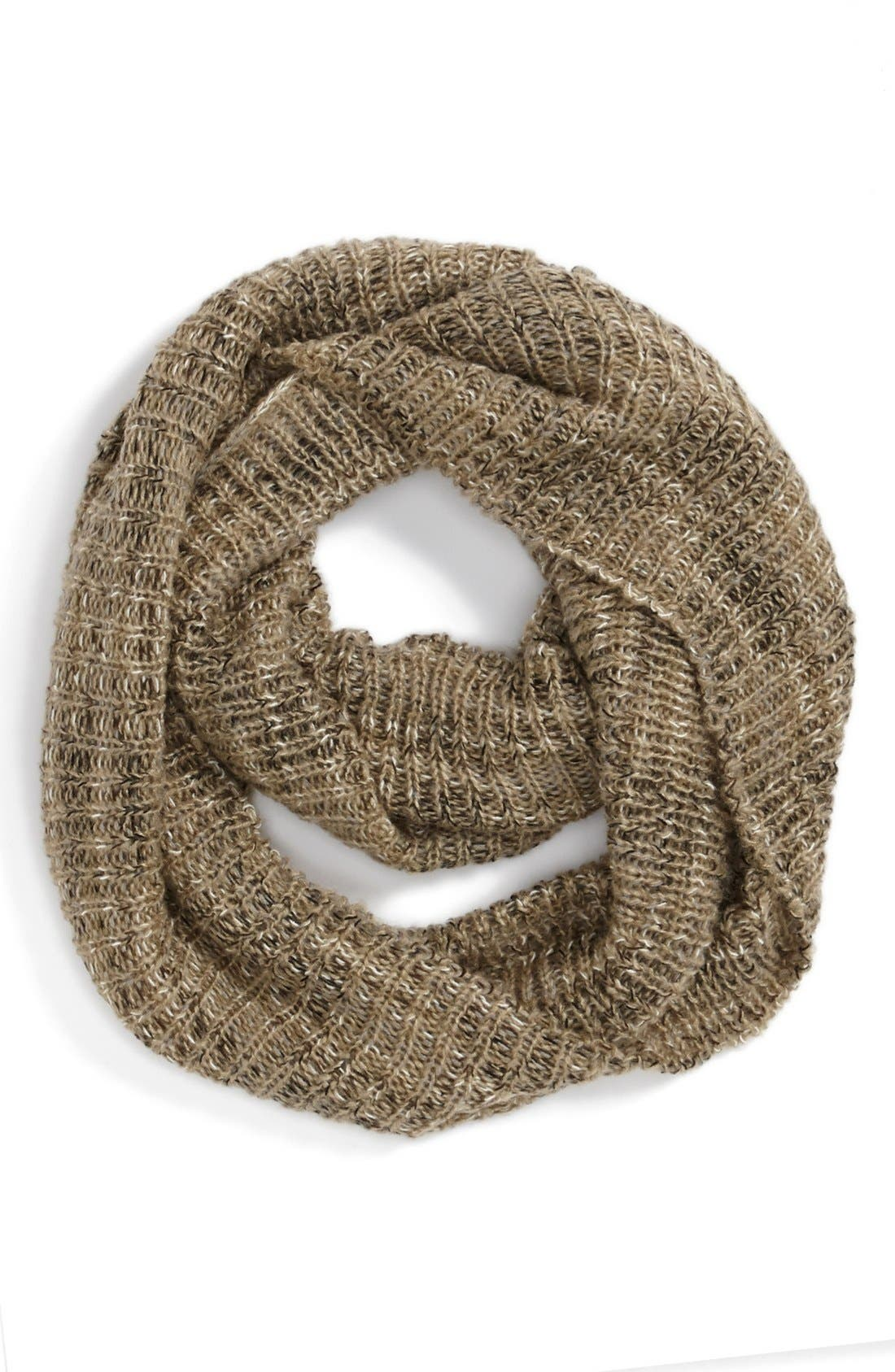 Main Image - David & Young Space Dye Infinity Scarf (Juniors)