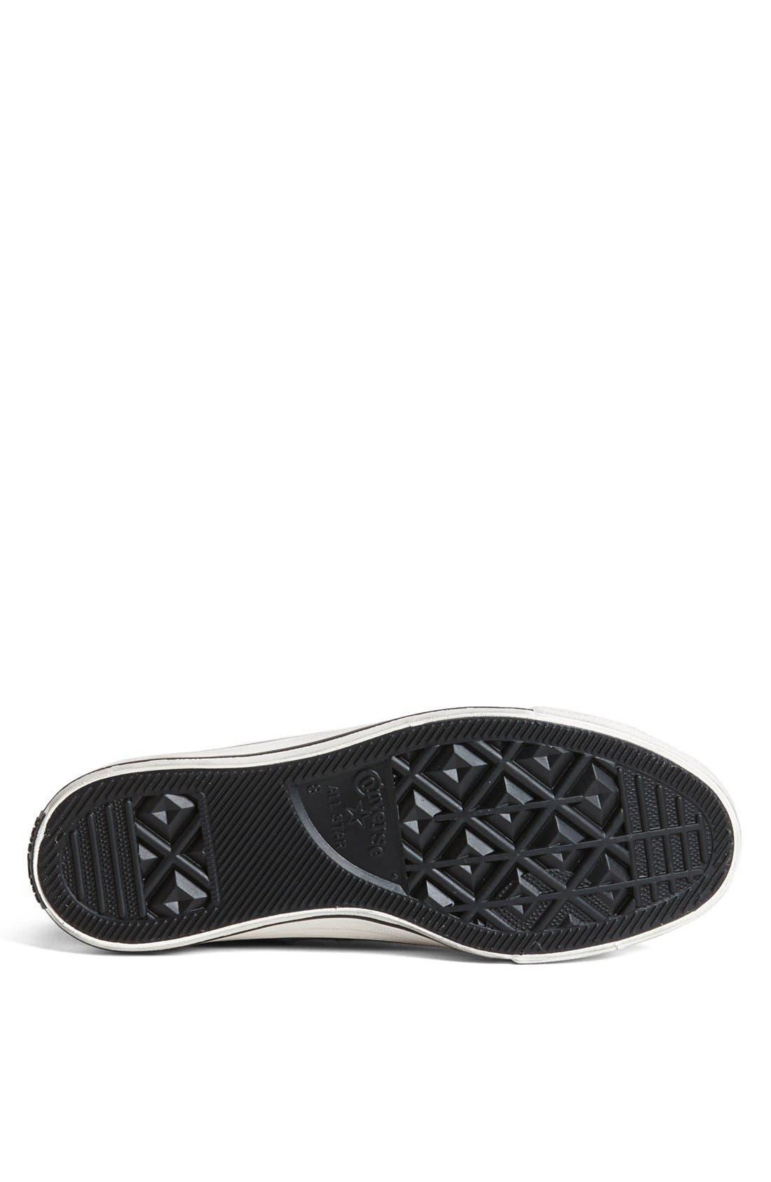 Alternate Image 4  - Converse Chuck Taylor® All Star® Zip Sneaker (Men)
