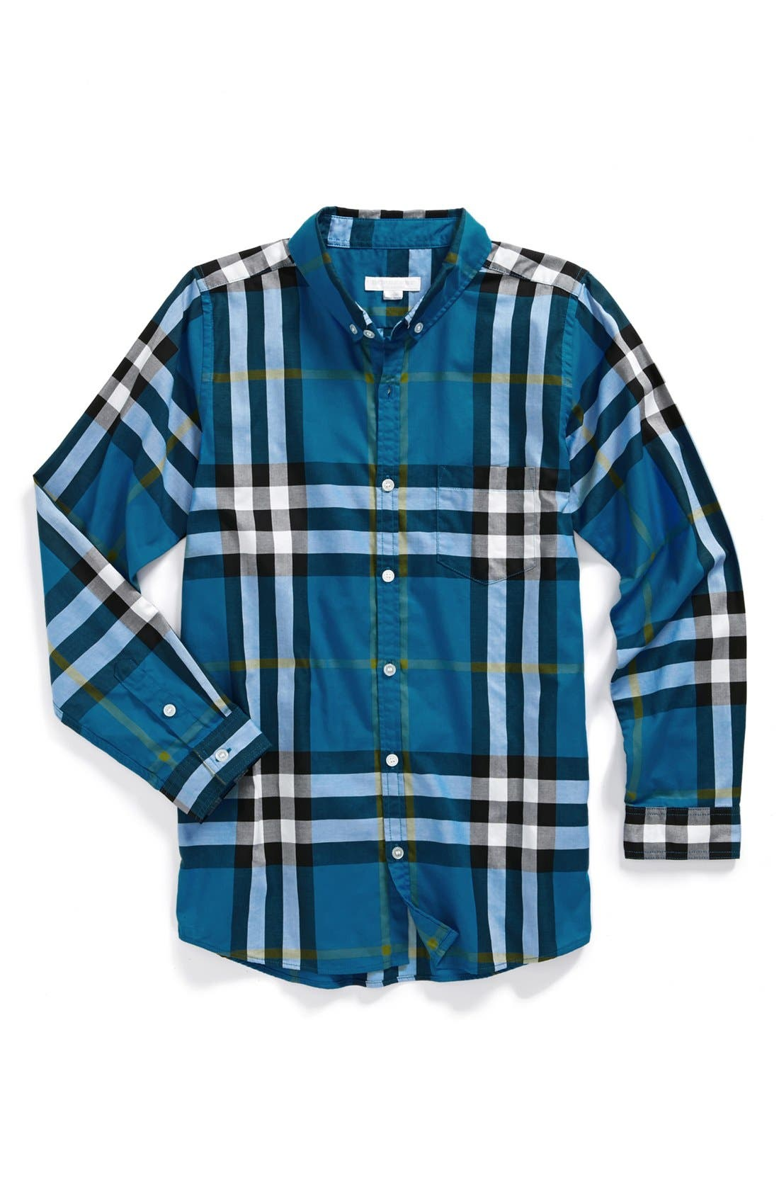 Main Image - Burberry 'Mini Fred' Sport Shirt (Little Boys & Big Boys)