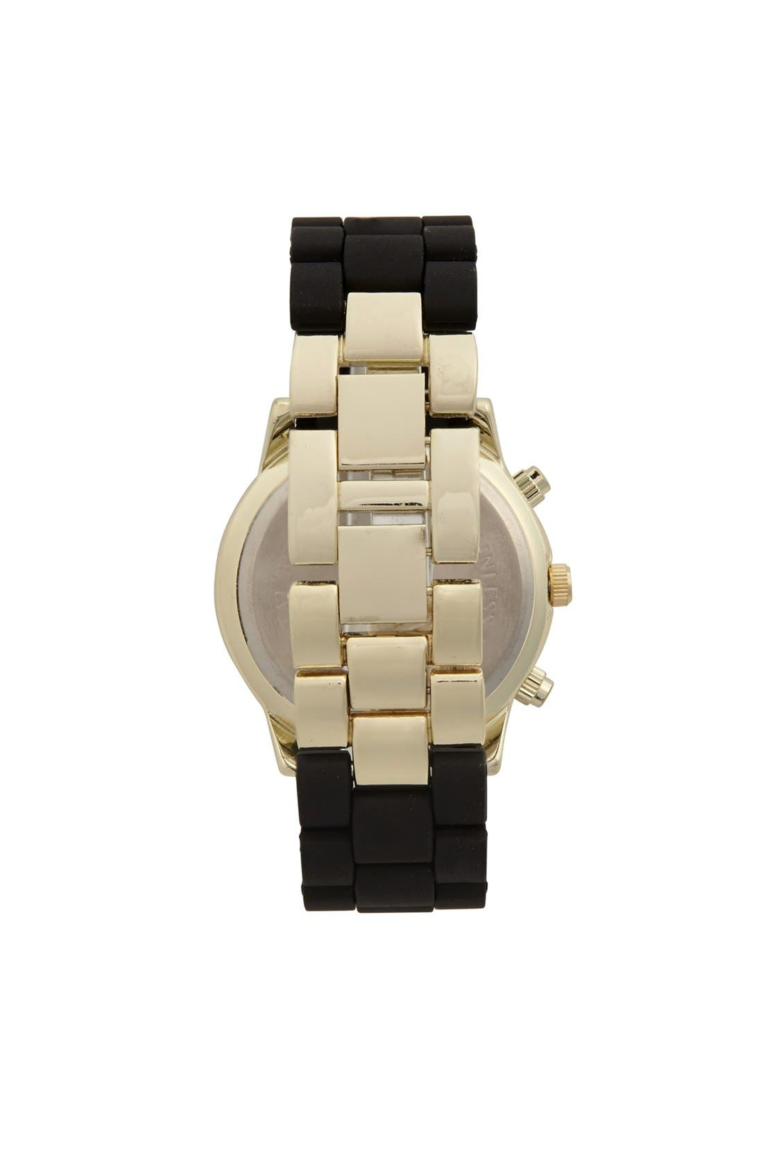 Alternate Image 2  - Titanium Rubber Strap Bracelet Watch, 45mm (Juniors) (Online Only)