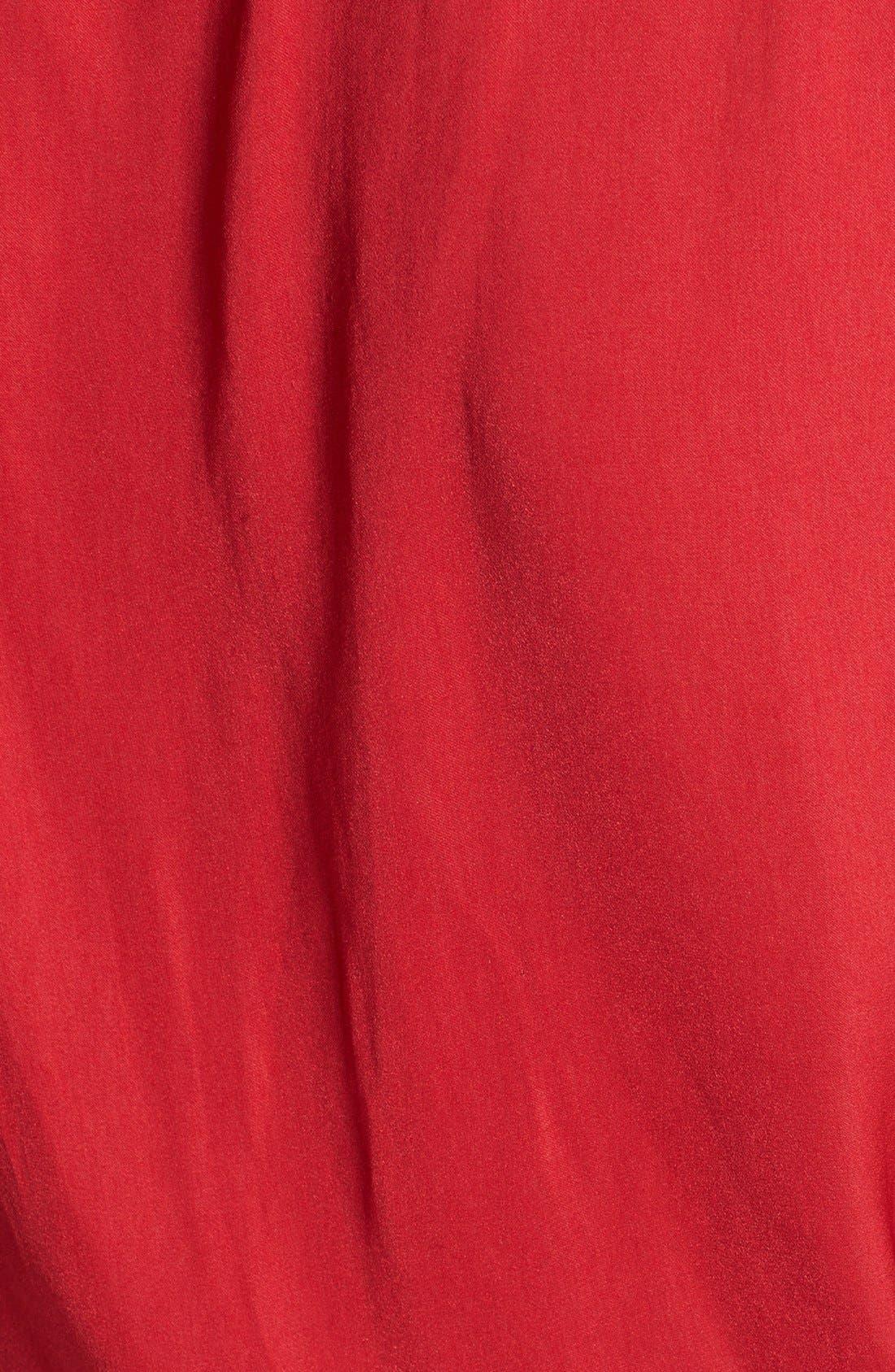 Alternate Image 3  - Trouvé Front Keyhole Woven Top
