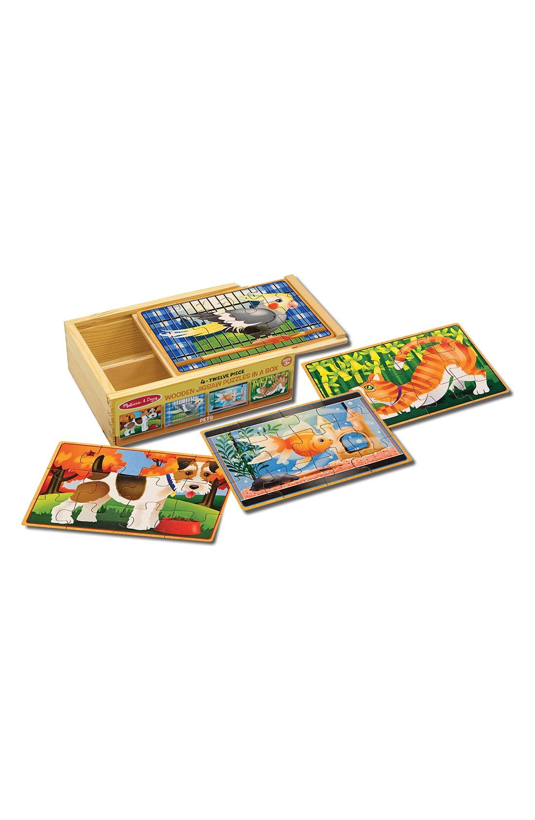 Alternate Image 2  - Melissa & Doug 'Pets' Jigsaw Puzzles in a Box