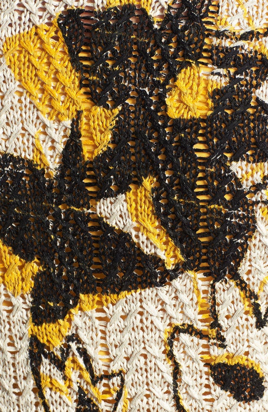 Alternate Image 3  - NIC+ZOE 'Flower Burst' Cardigan (Plus Size)