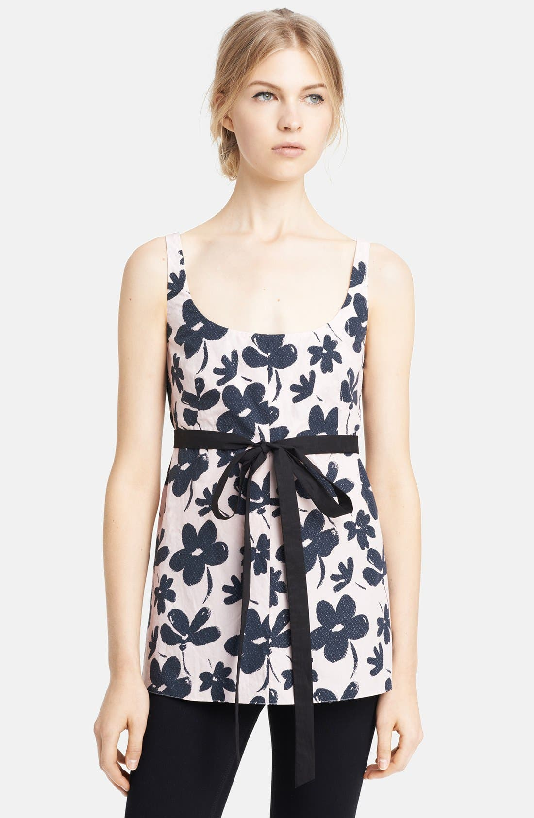 Alternate Image 1 Selected - Marni Print Poplin Tank