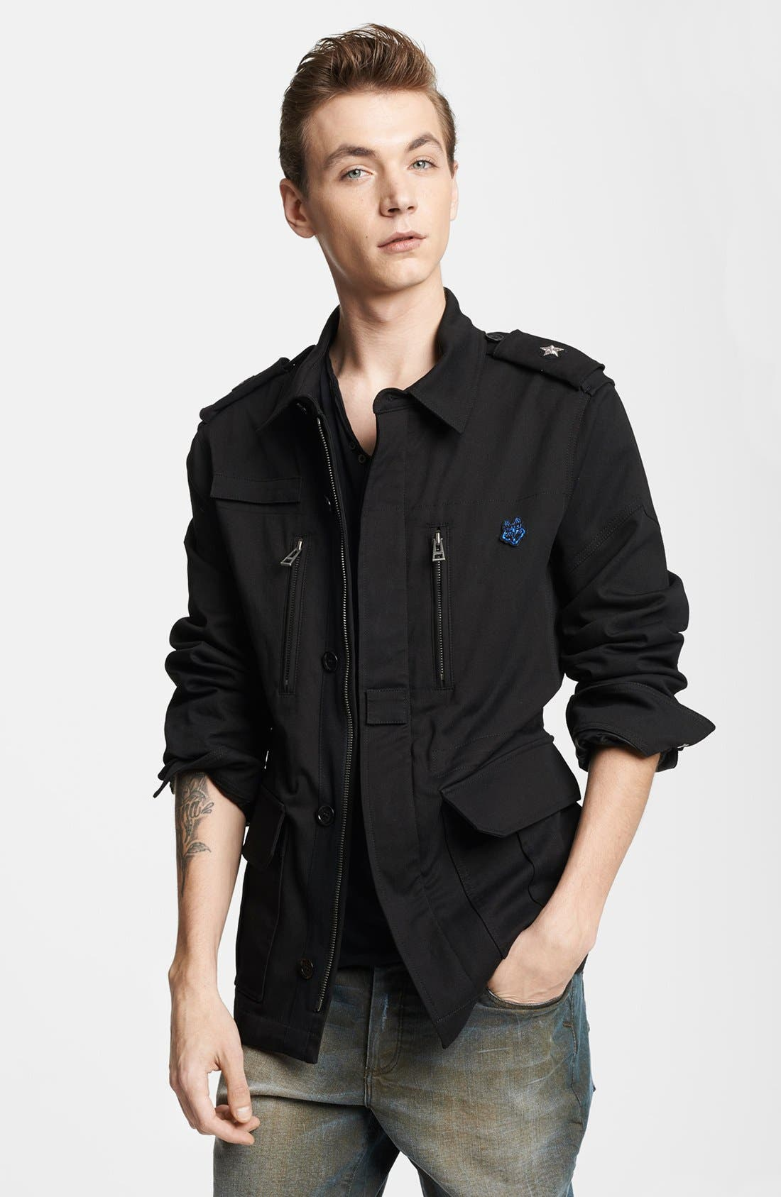 Main Image - Zadig & Voltaire Twill Military Jacket
