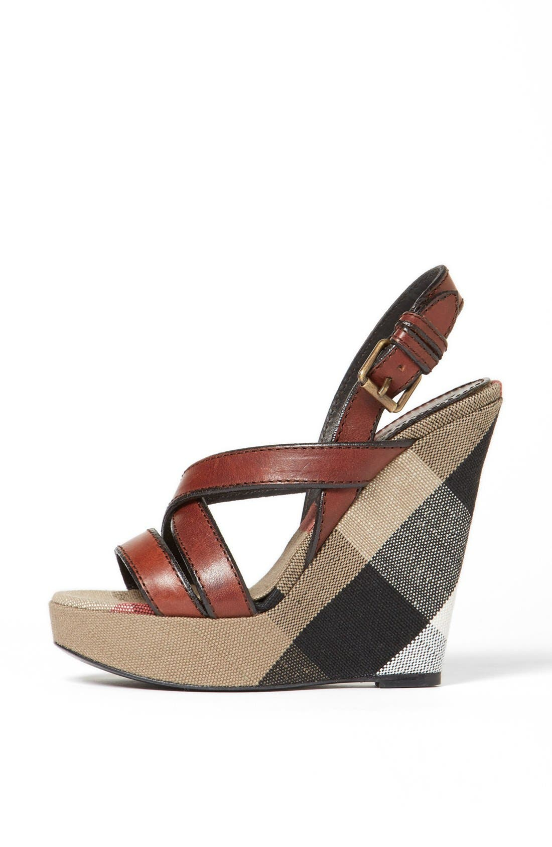 Alternate Image 3  - Burberry 'Warlow' Leather Sandal