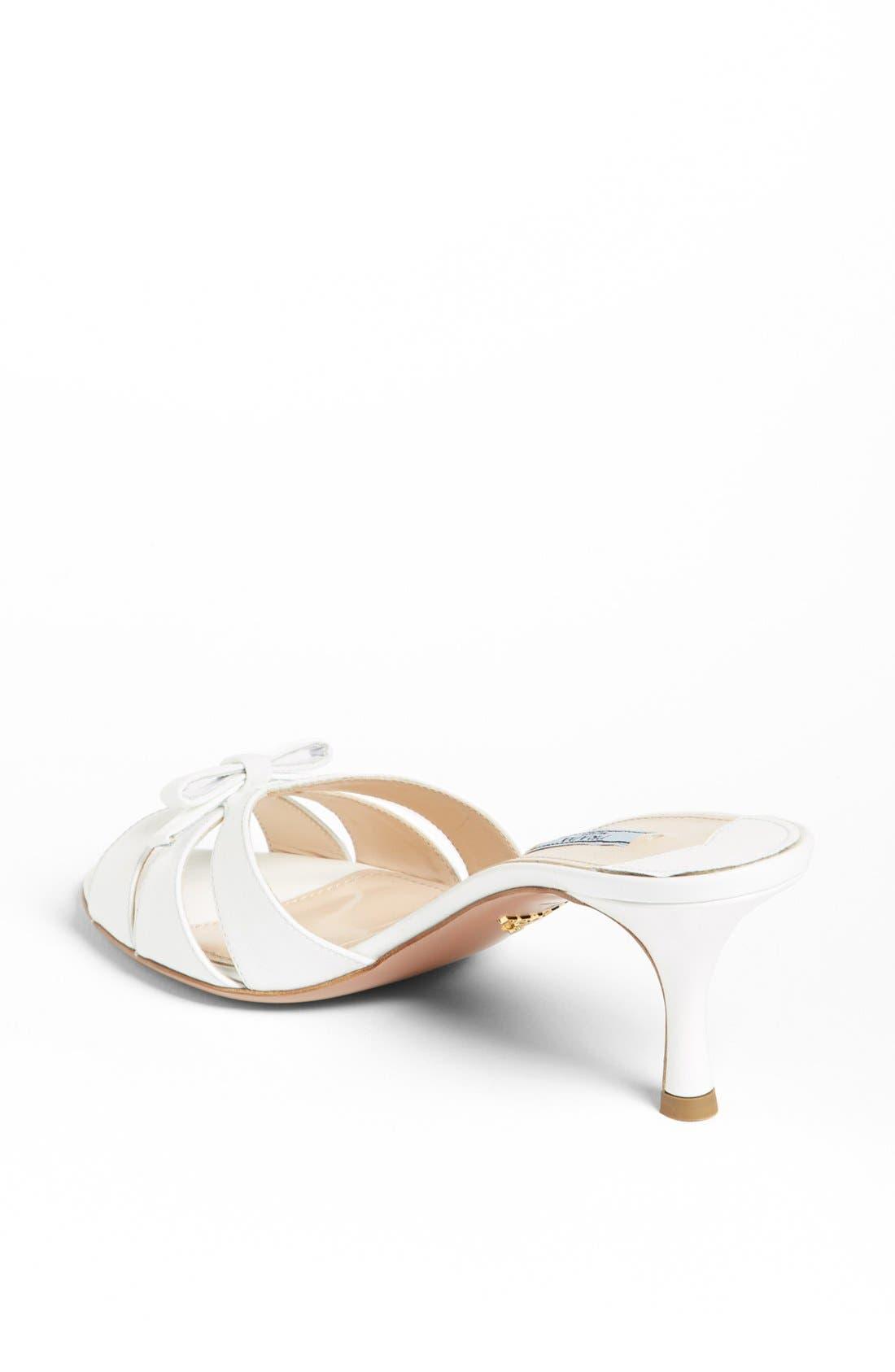 Alternate Image 2  - Prada Bow Slide Sandal
