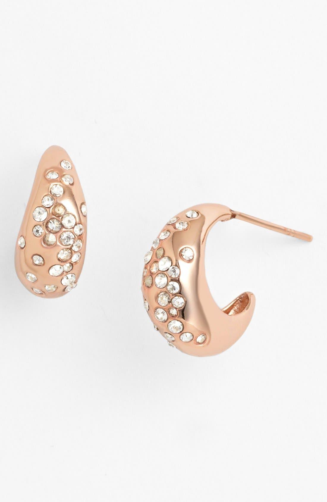 Alternate Image 1 Selected - Alexis Bittar 'Miss Havisham' Small Hoop Earrings
