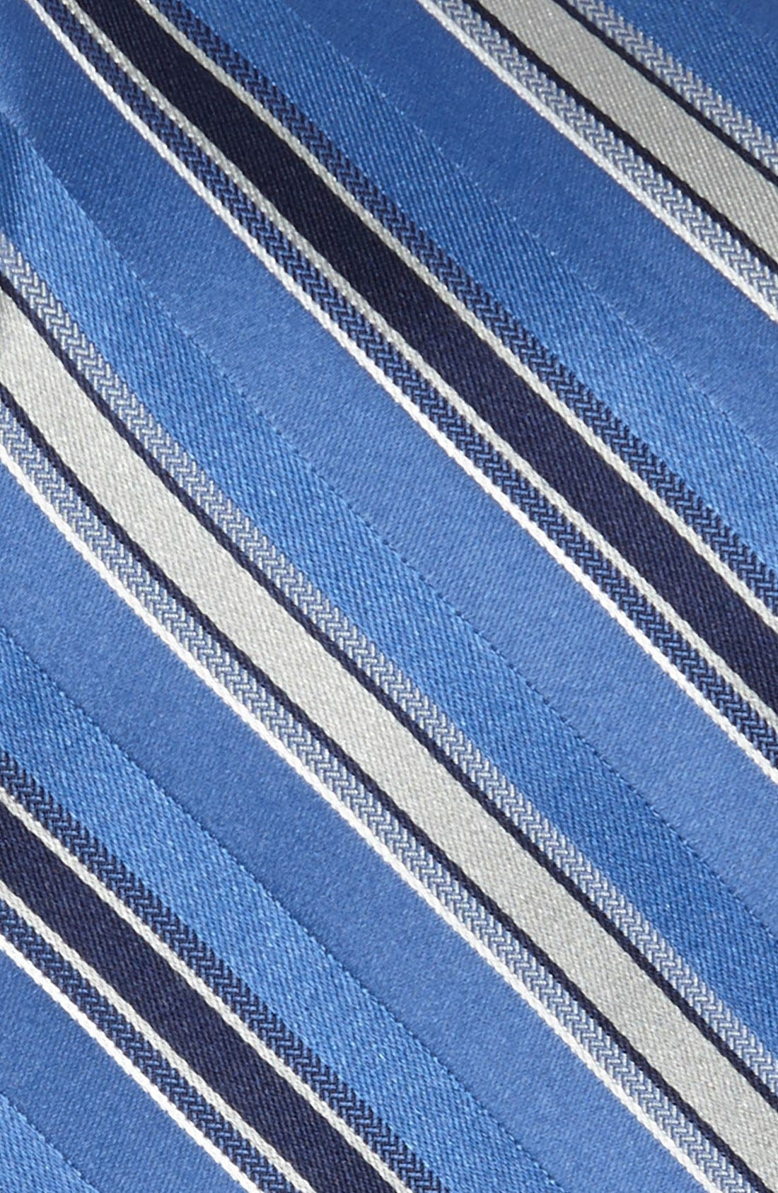 Alternate Image 2  - Michael Kors 'Wilton' Stripe Silk Tie