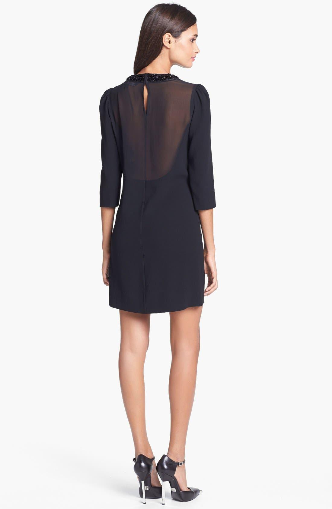 Alternate Image 2  - MARC BY MARC JACOBS 'Kisa' Embellished Silk Shift Dress