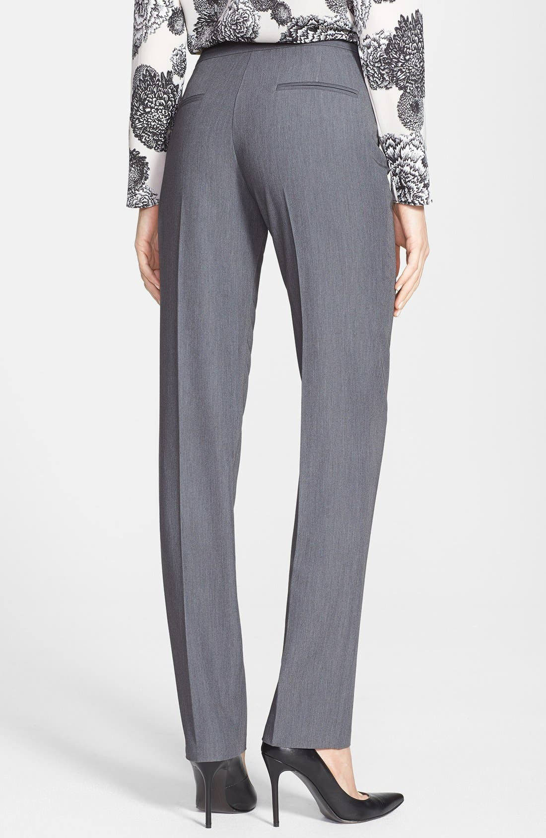Alternate Image 2  - DKNYC Straight Leg Suiting Pants