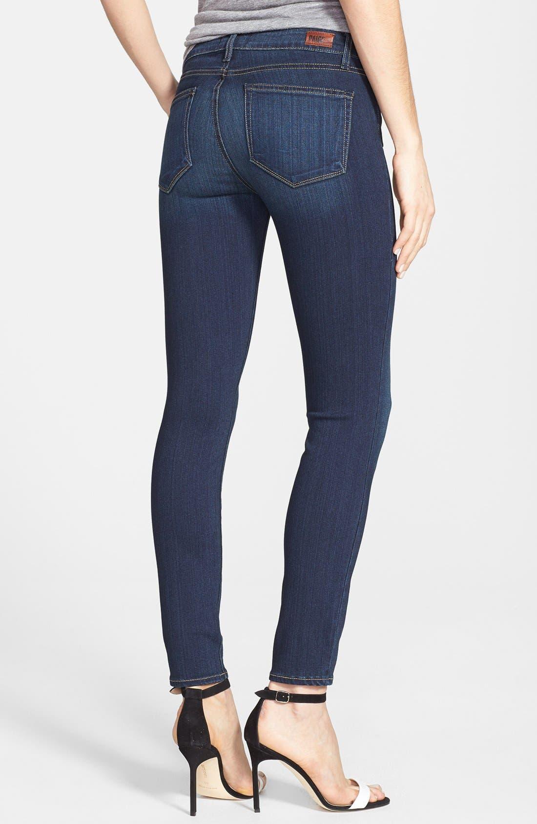 Alternate Image 3  - PAIGE Transcend - Verdugo Ankle Skinny Jeans (Nottingham)