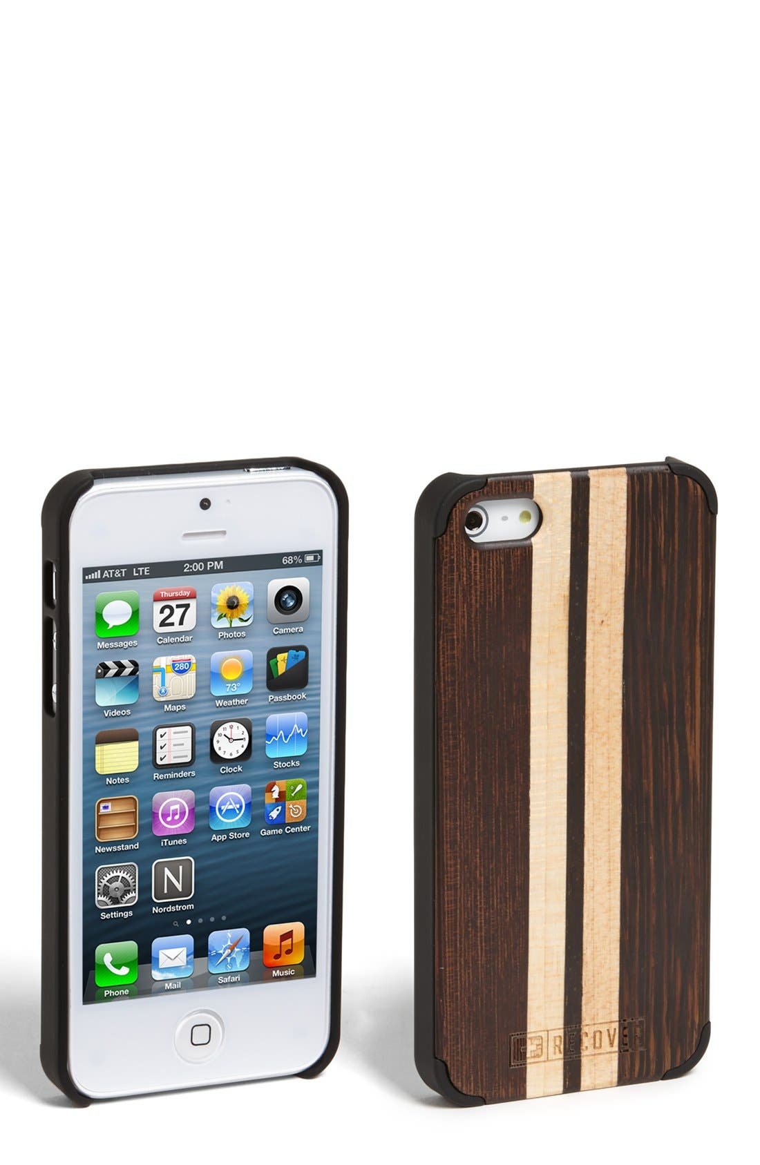 Alternate Image 1 Selected - Recover Wood iPhone 5 & 5s case