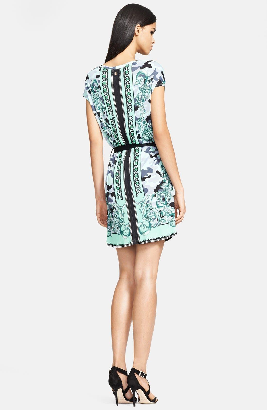 Alternate Image 2  - Versace Collection 'Camo Barocco' Print Jersey Dress