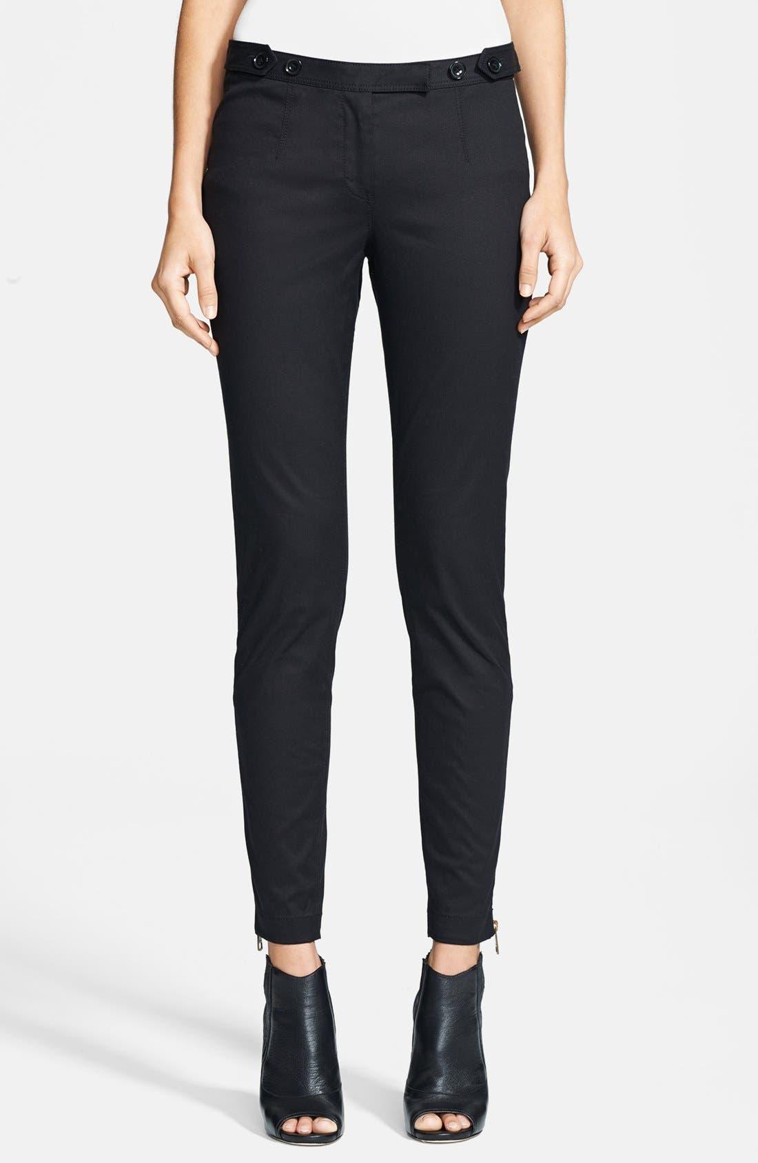 Alternate Image 1 Selected - Burberry Brit 'Cawston' Skinny Fit Pants