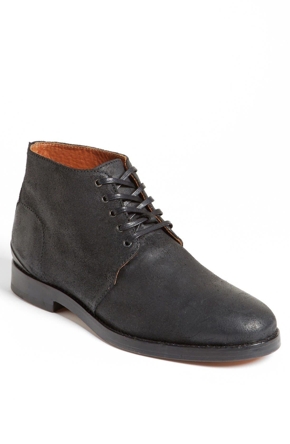 Alternate Image 1 Selected - rag & bone 'Archer' Plain Toe Suede Boot