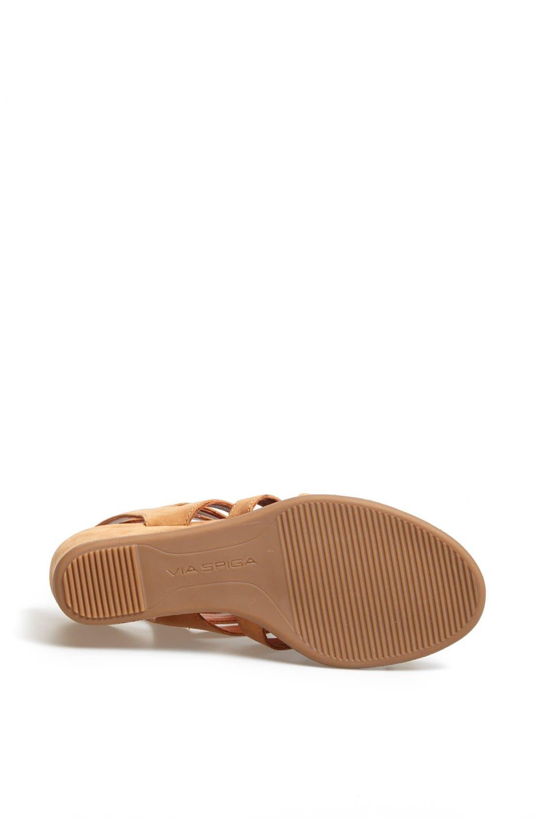 Alternate Image 4  - Via Spiga 'Denisha' Wedge Sandal