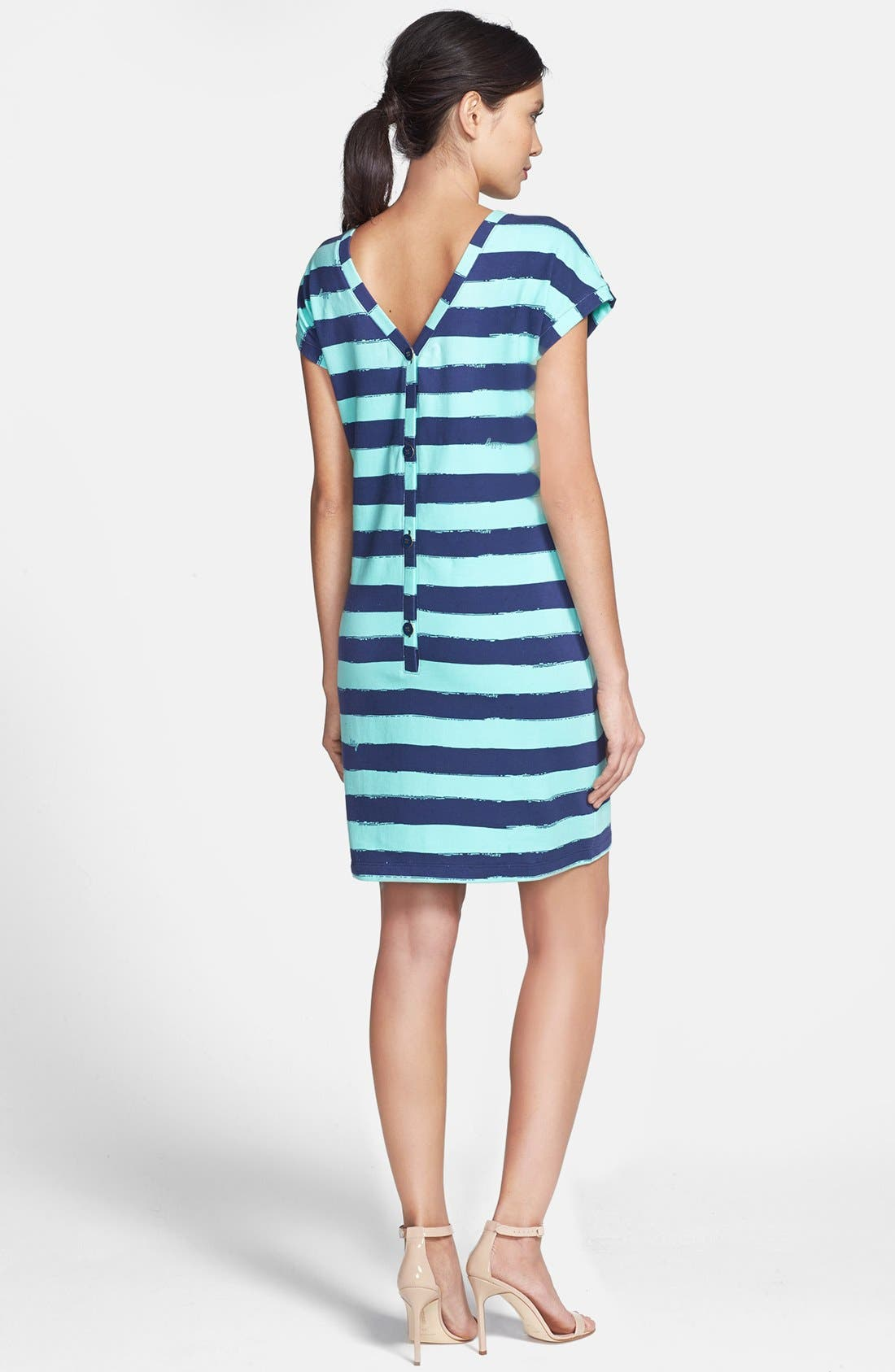 Alternate Image 2  - Lilly Pulitzer® 'Anastasia' Stripe French Terry Shift Dress