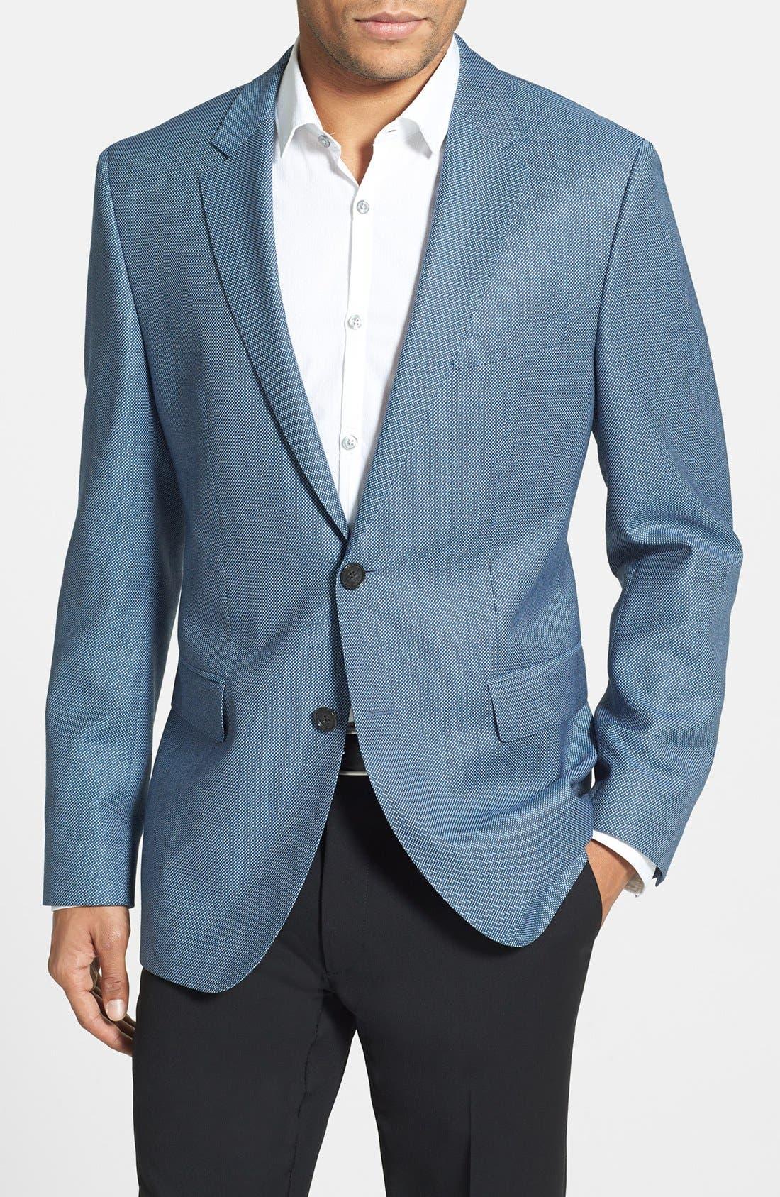 Alternate Image 1 Selected - BOSS HUGO BOSS 'James' Trim Fit Wool Blazer