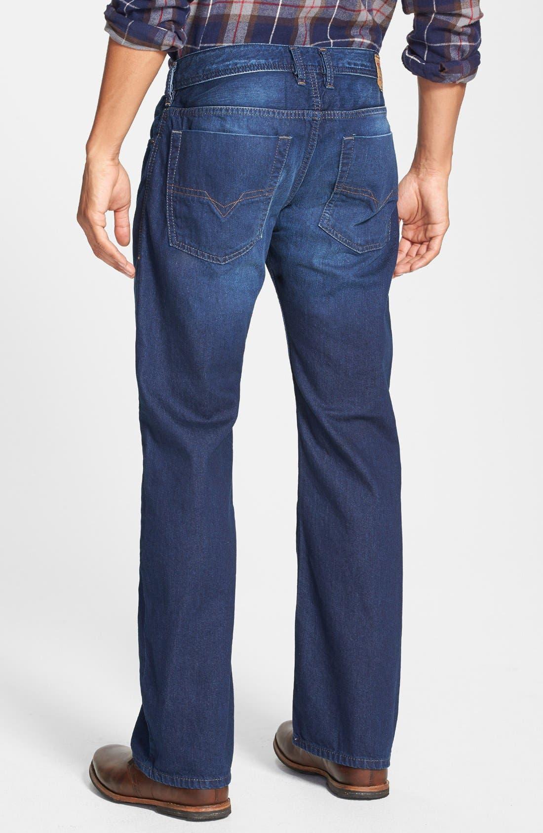 Alternate Image 2  - DIESEL® 'Zatiny' Bootcut Jeans (0818N)