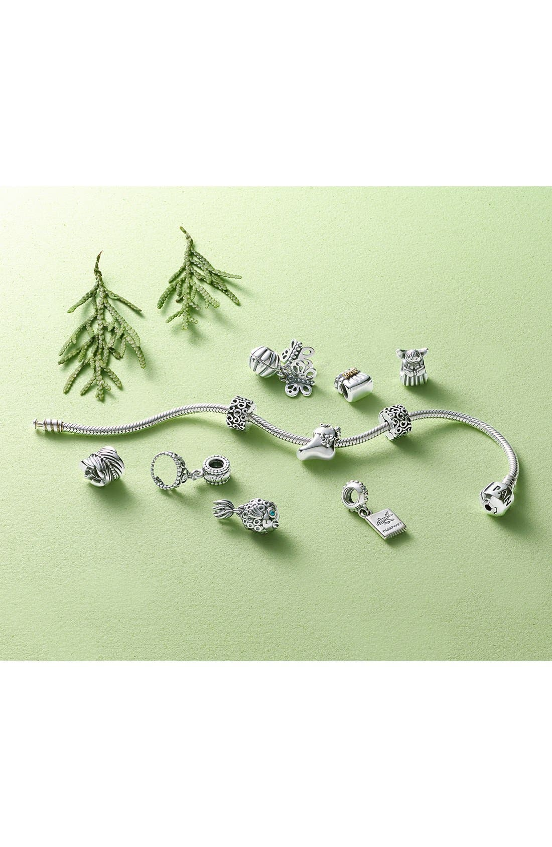 Alternate Image 6  - PANDORA 'You're in My Heart' Clip Charm