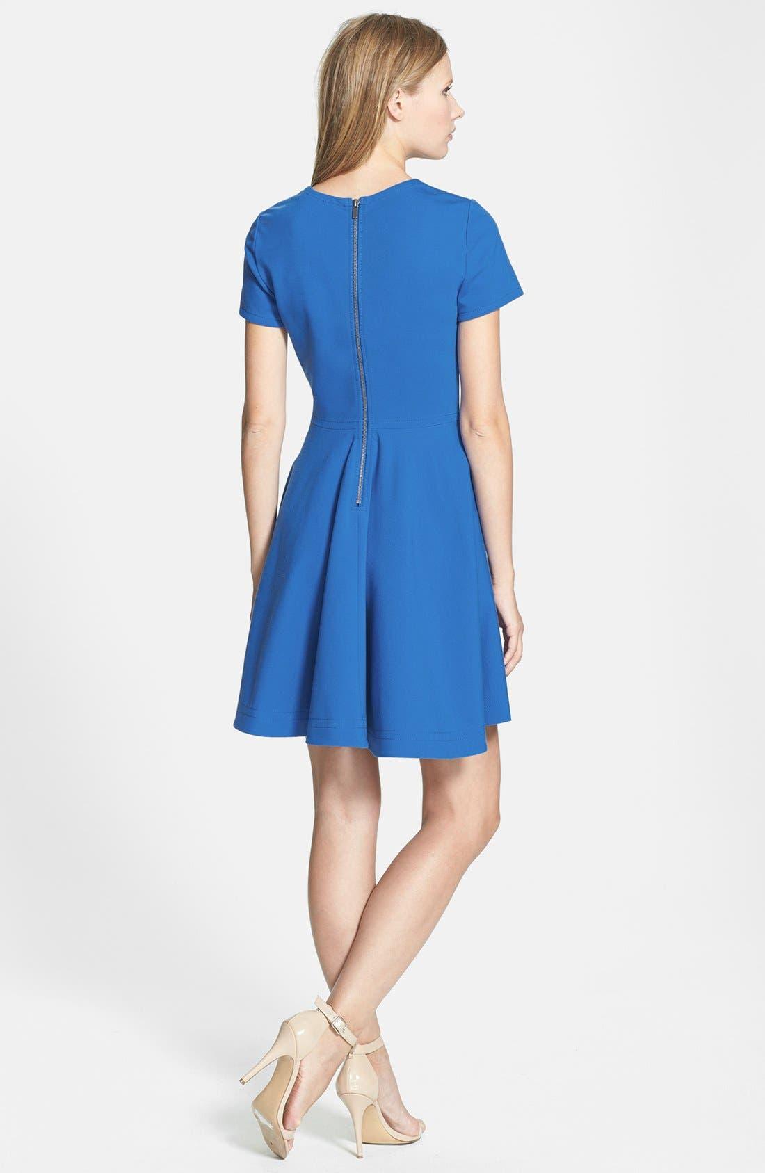 Alternate Image 2  - Diane von Furstenberg 'Ivana' Fit & Flare Dress