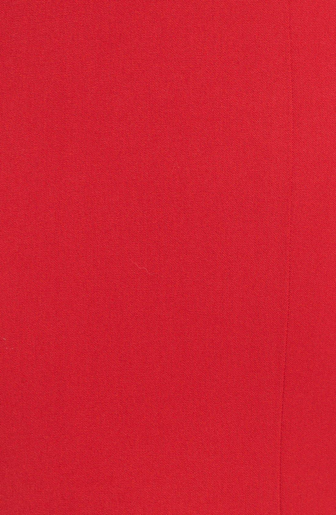 Alternate Image 3  - Black Halo 'Wren' Crepe Peplum Gown