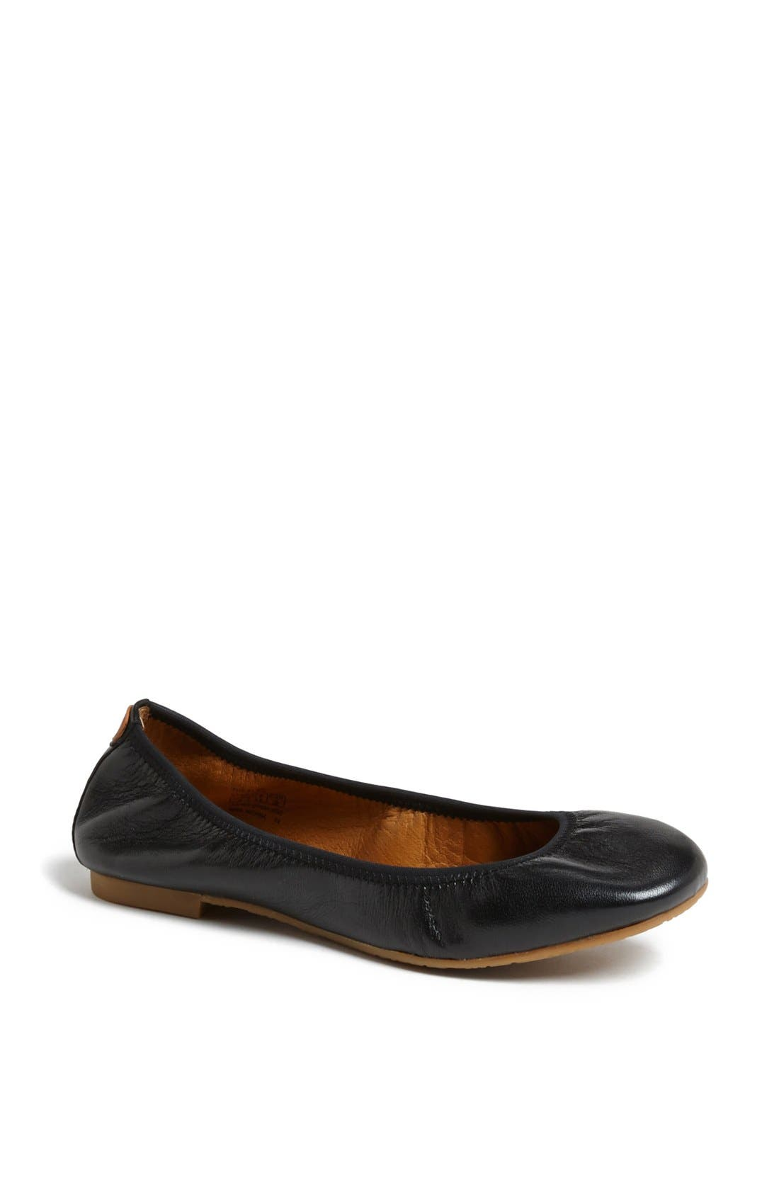 Alternate Image 1 Selected - Juil 'The Flat' Earthing Leather Ballet Flat