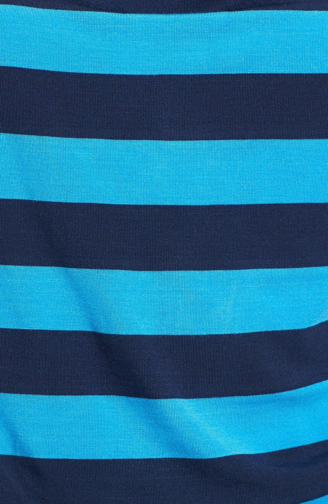 Alternate Image 3  - Caslon® Drape Neck Three Quarter Sleeve Stretch Knit Tee